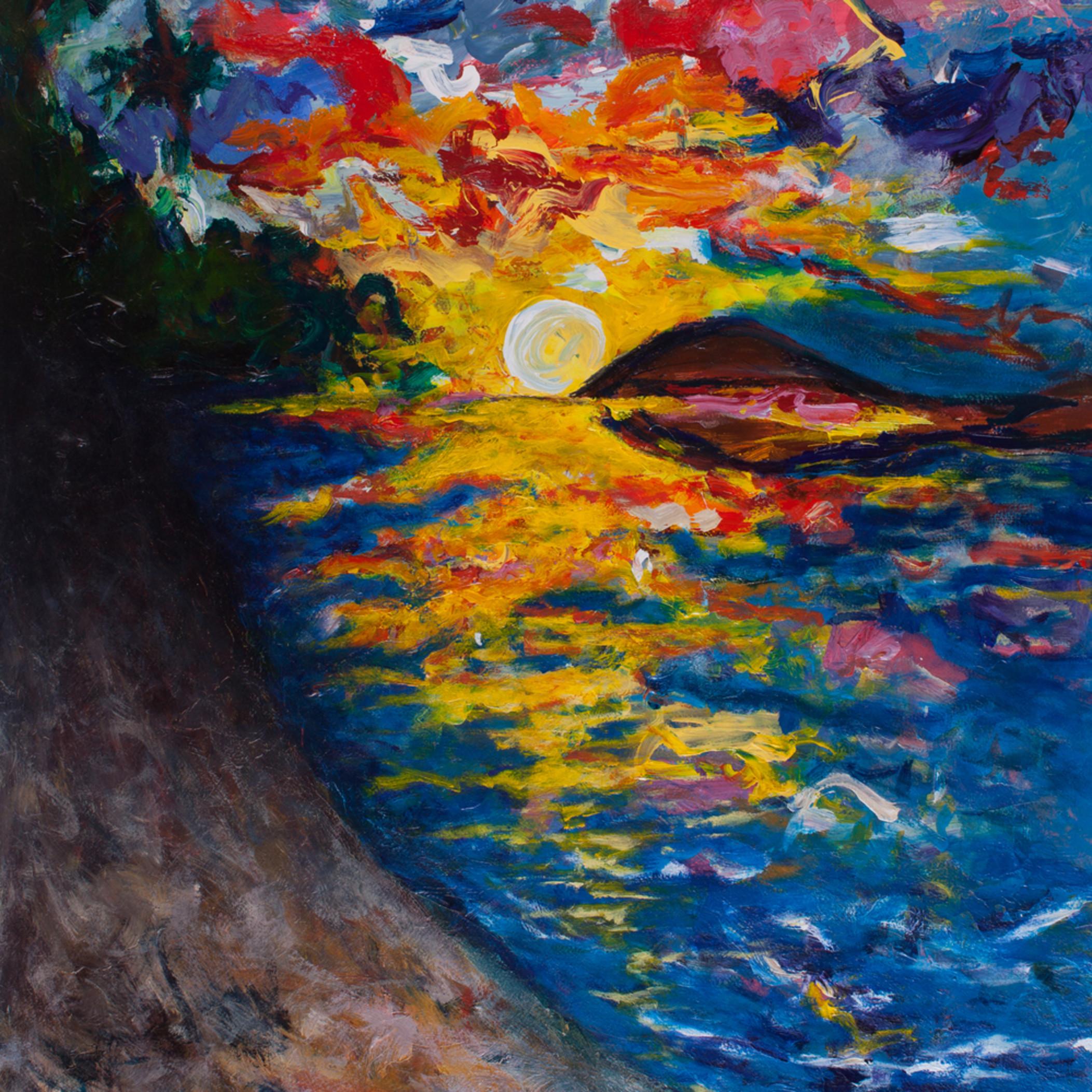 Ocean sunset maqib4