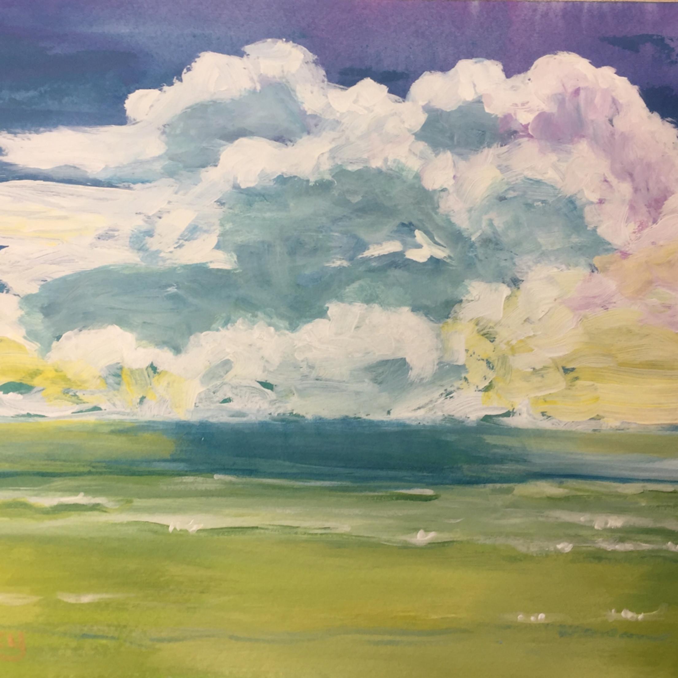 Beach clouds i7mz3j