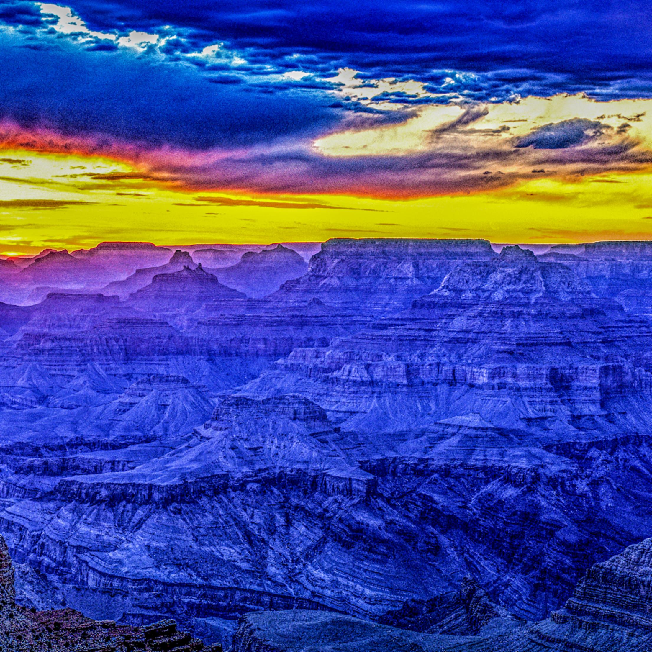 Grand canyon twilight az qd3vs6