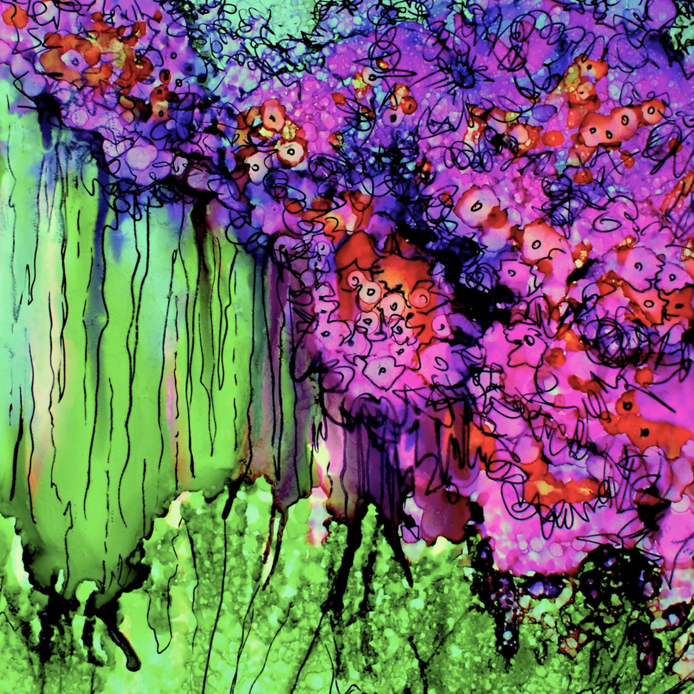 Purple blossum xqv45e