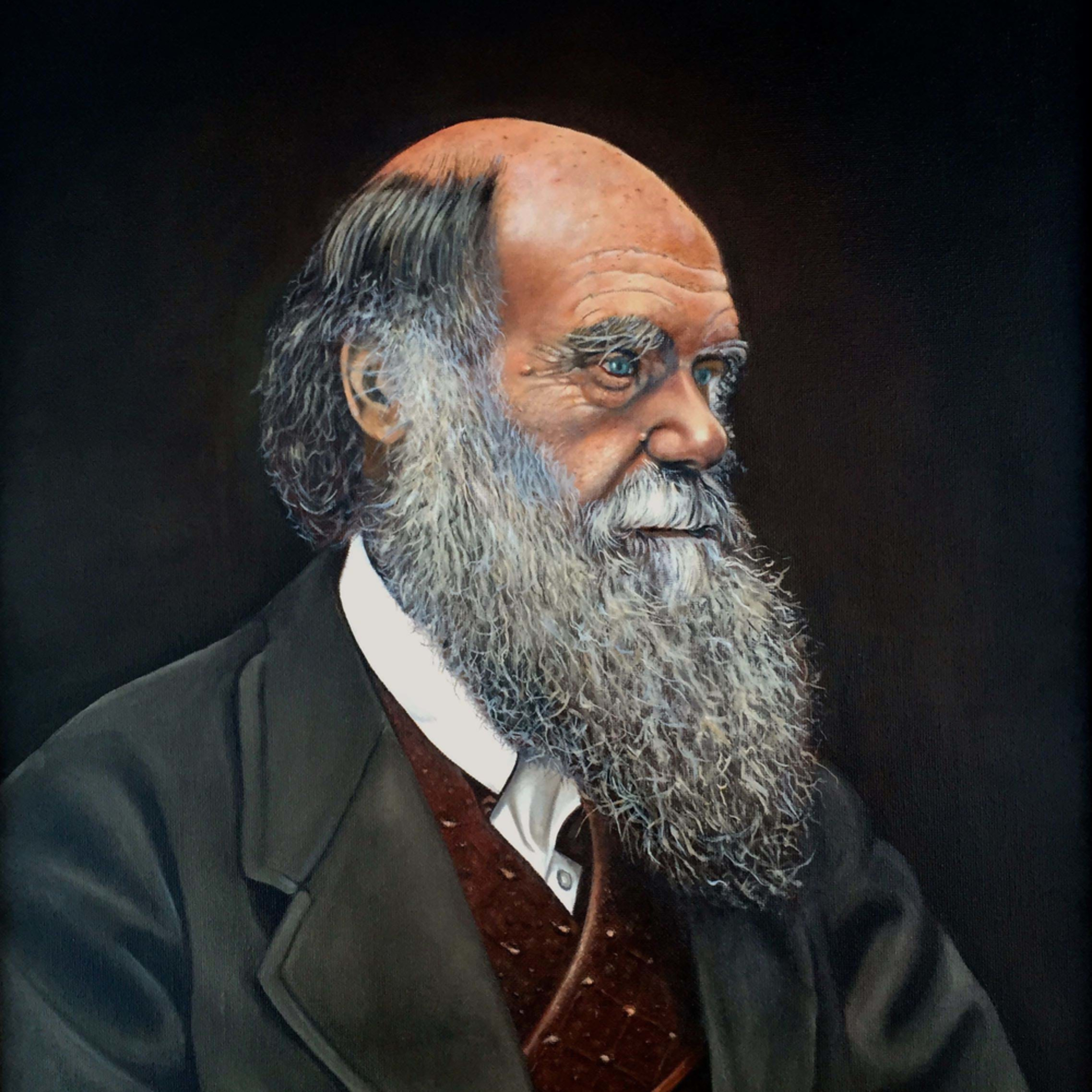 Portrait of charles darwin tncazl