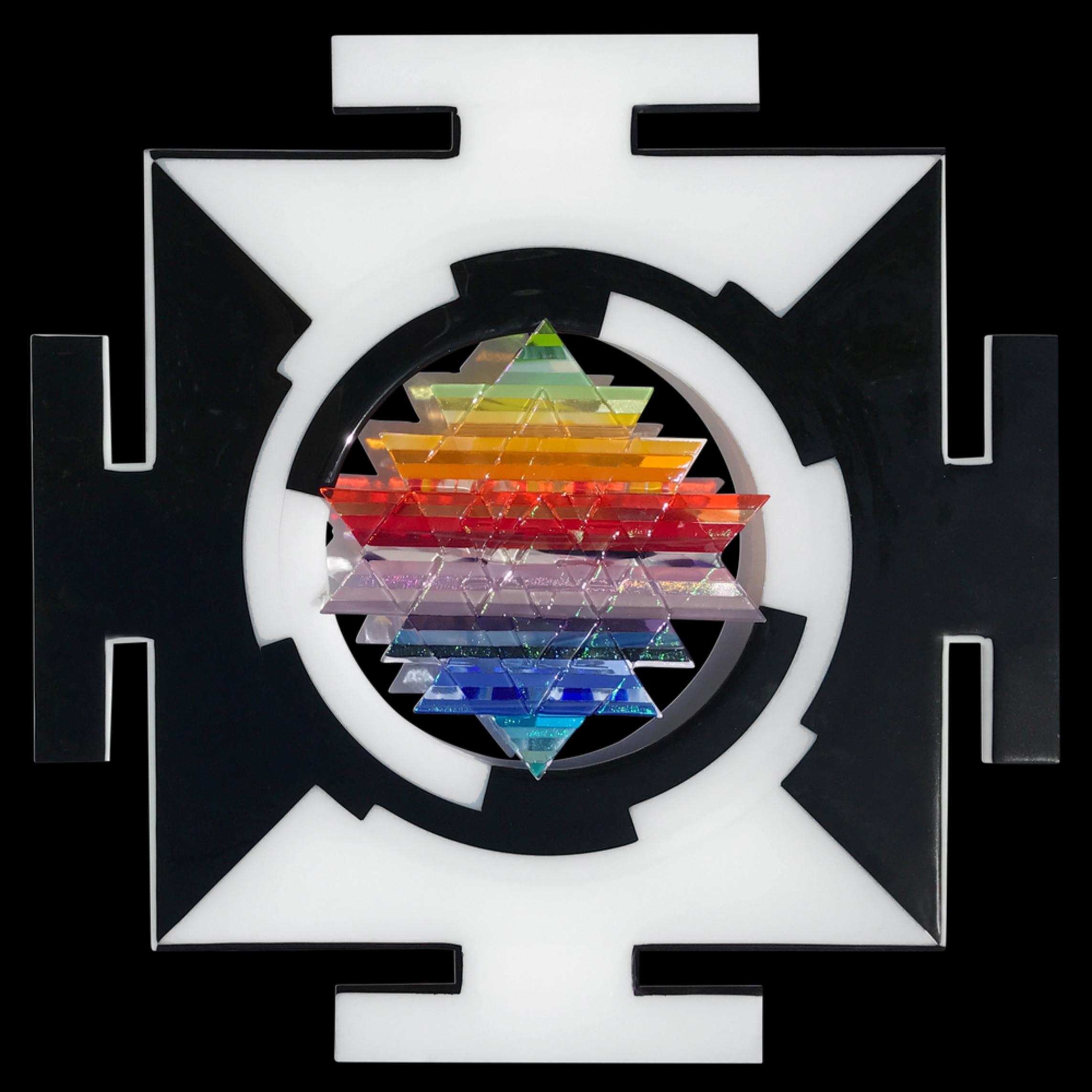 Sri yantra transparent black wr7qff