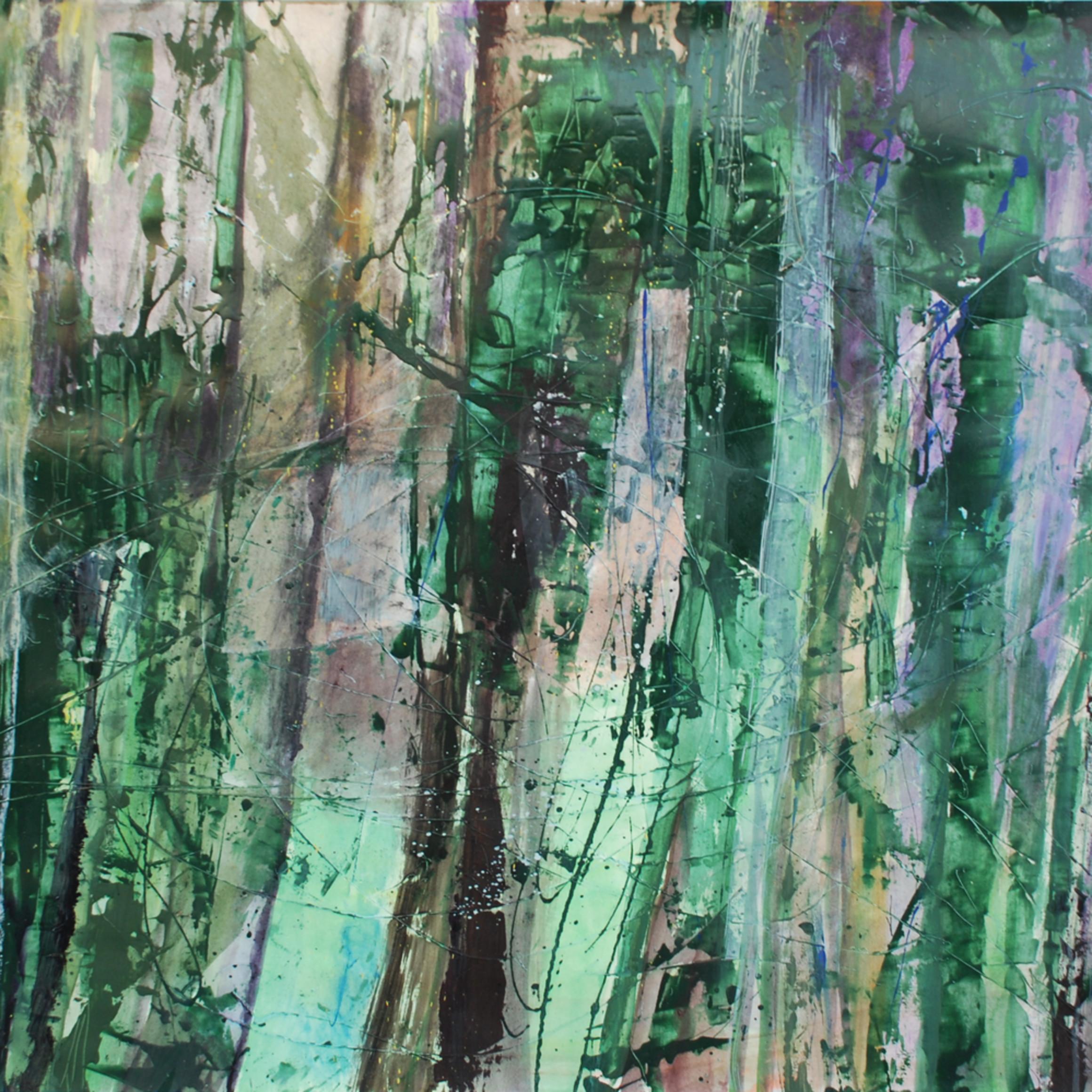 Palo verde acrylic on paper 38x50 x5fsxe