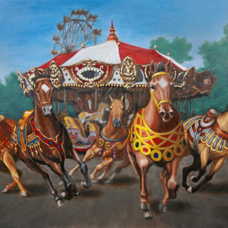 Carousel escape in the park ftcnou