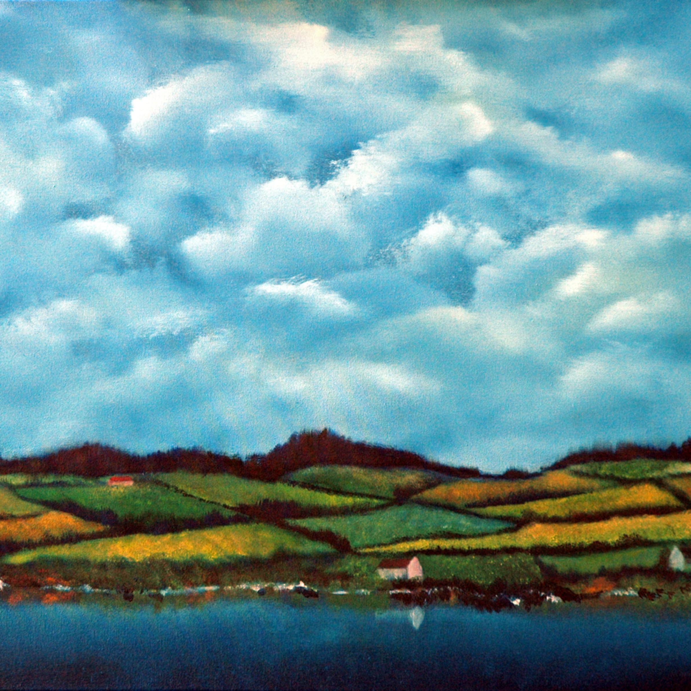 Invergordon scotland   oil on canvas   24 22 x 30 22 tyc57a