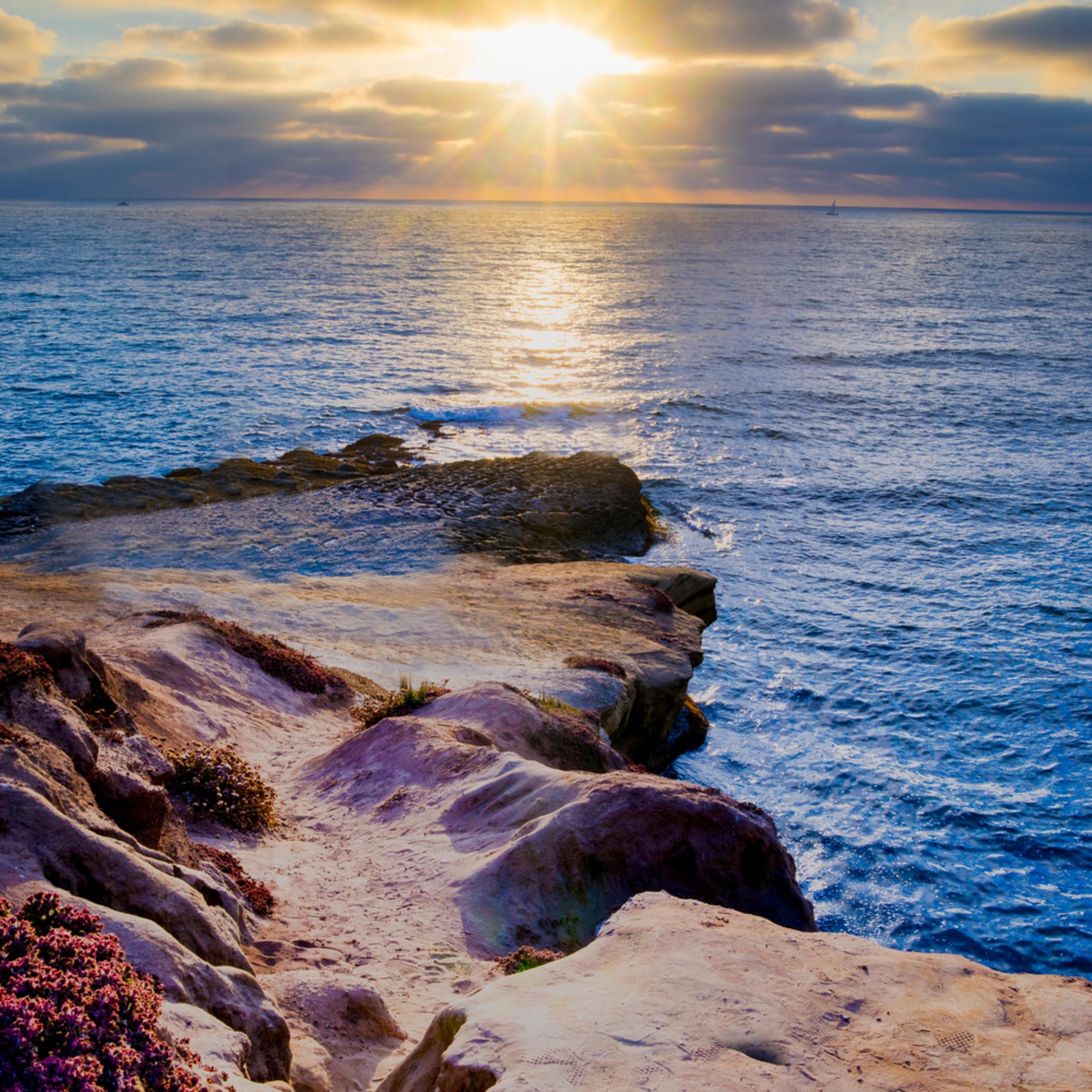 Sunset cliff x9bnir