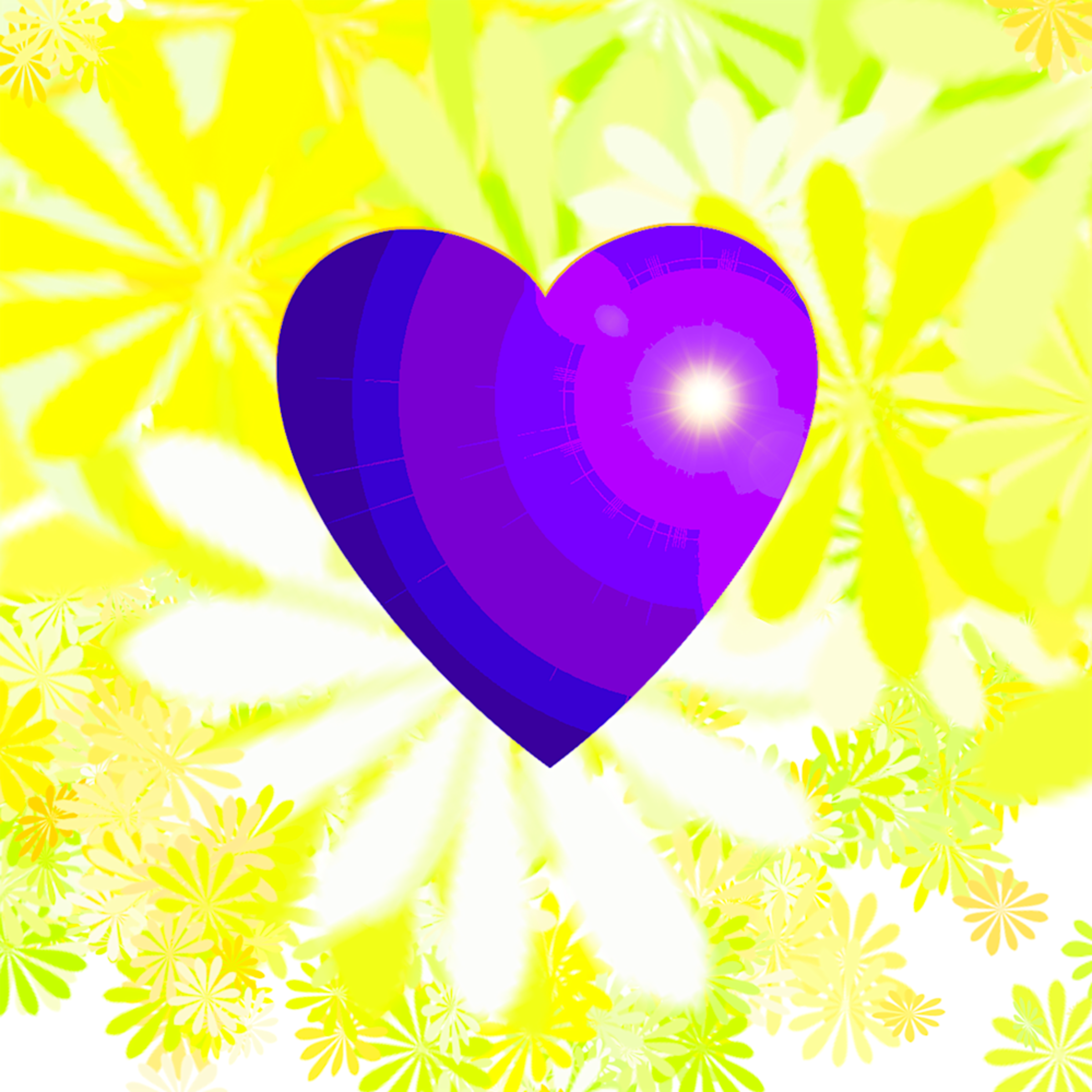 Psychedelic heart sgrzve
