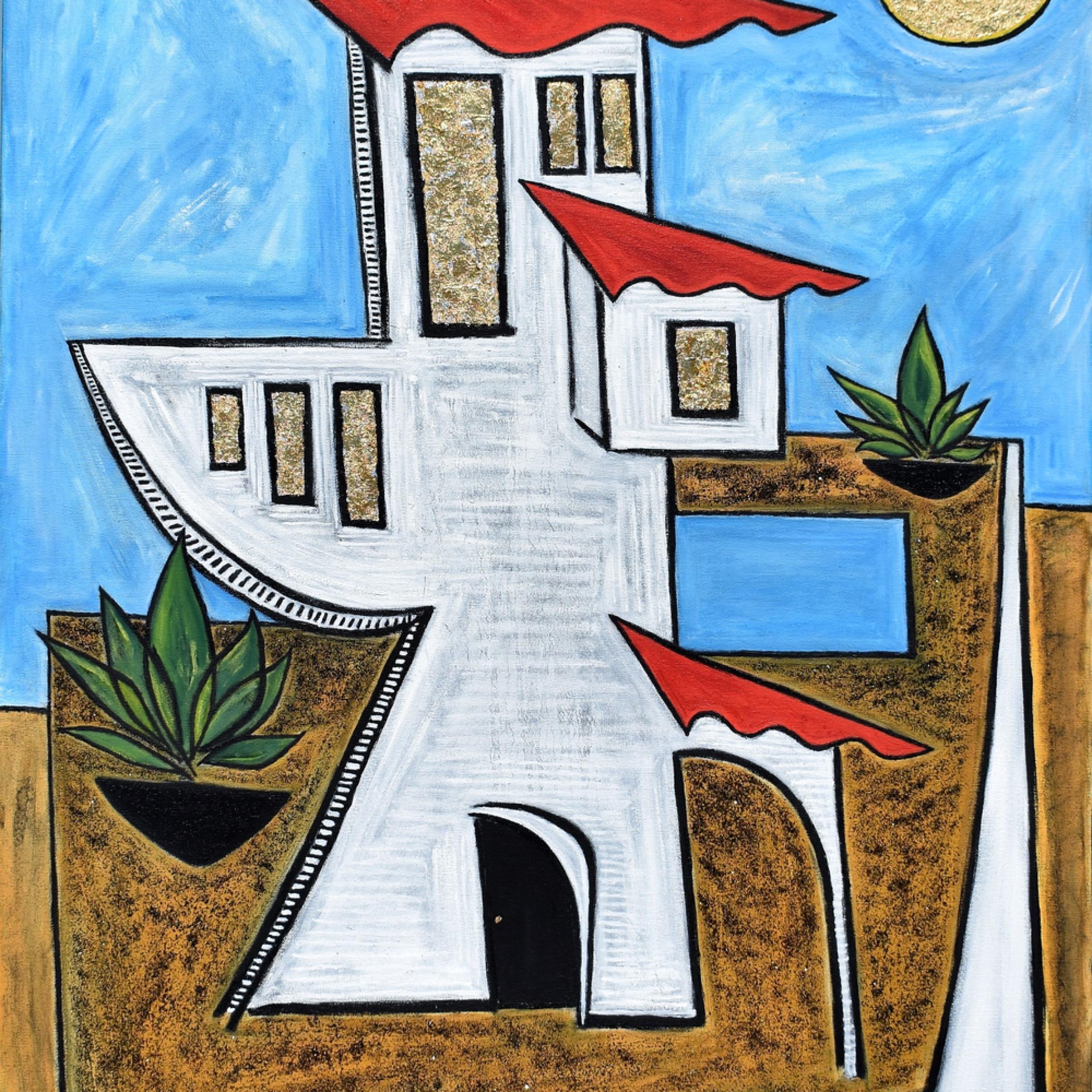 High desert painting artist paul zepeda wet paint nyc z7wkmv