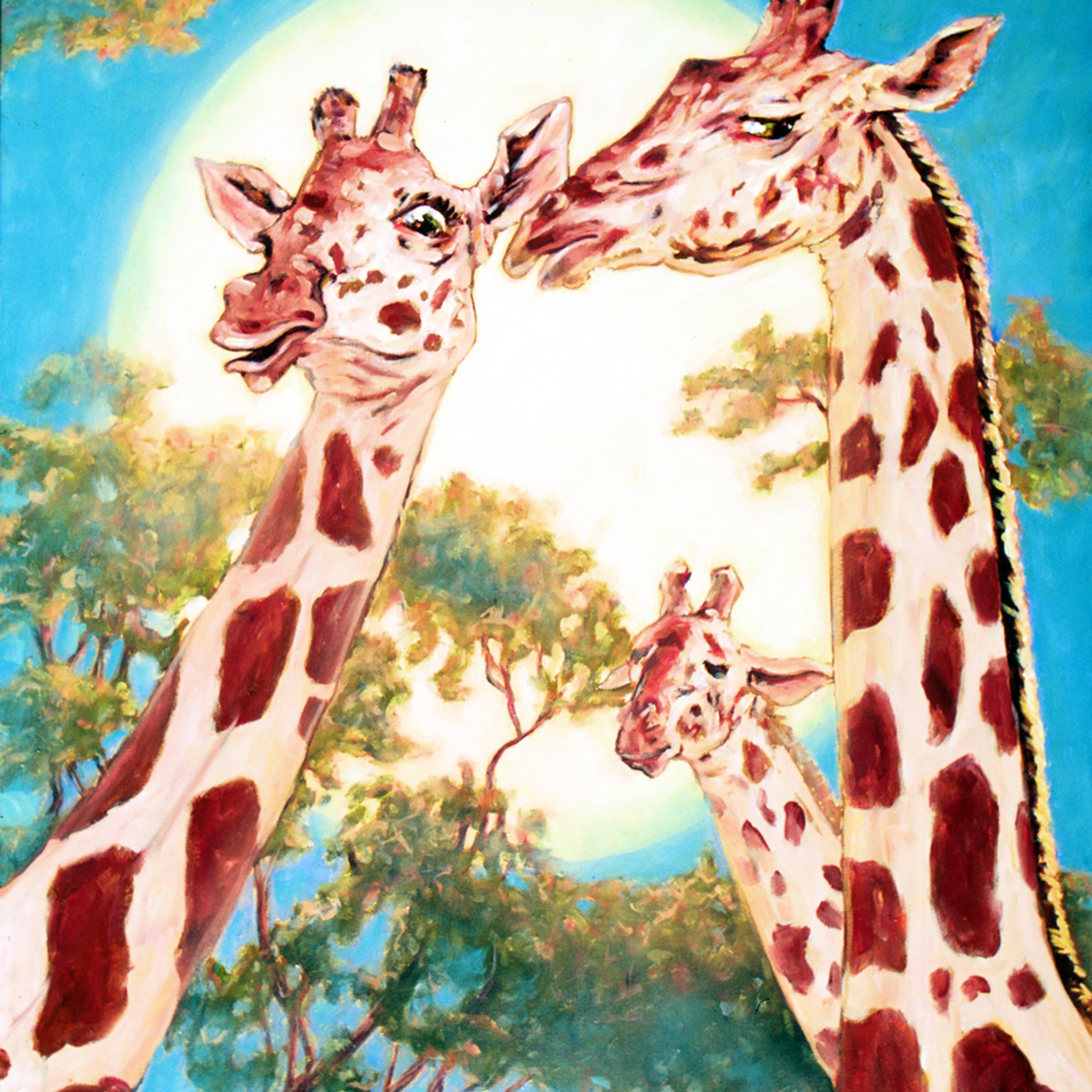 G is for gossiping giraffes zpywkq