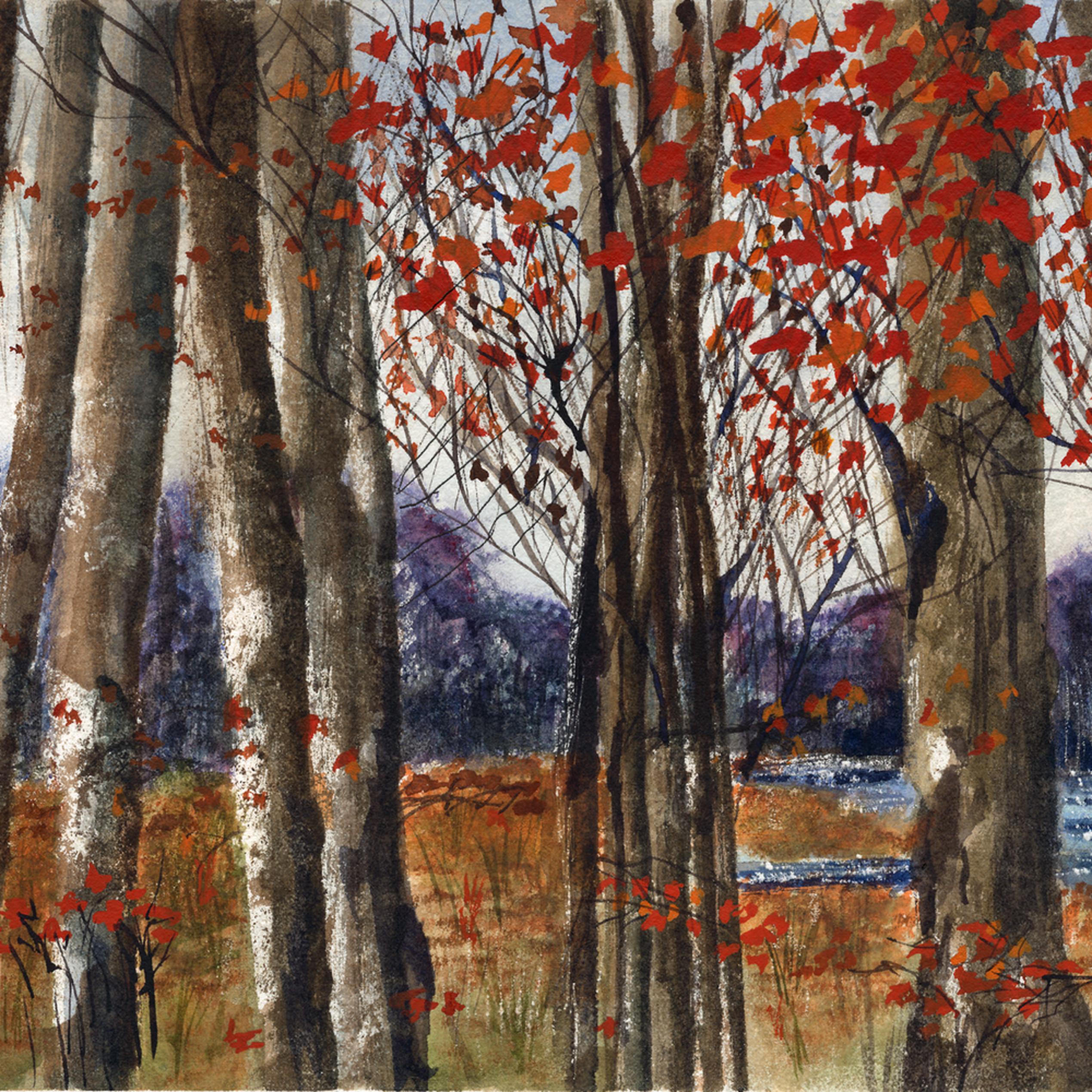 Autumn   halton hills   watercolour on panel   8.5 22 x 18.5 22 jt6jgd