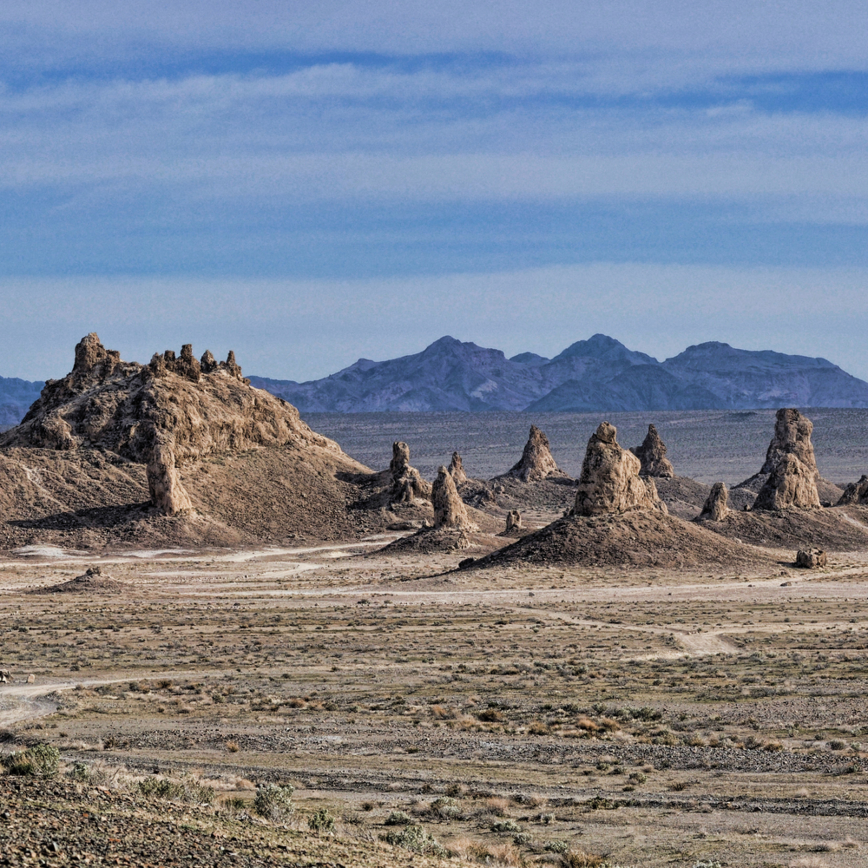 Trona pinnacles national park panorama a9ebpf