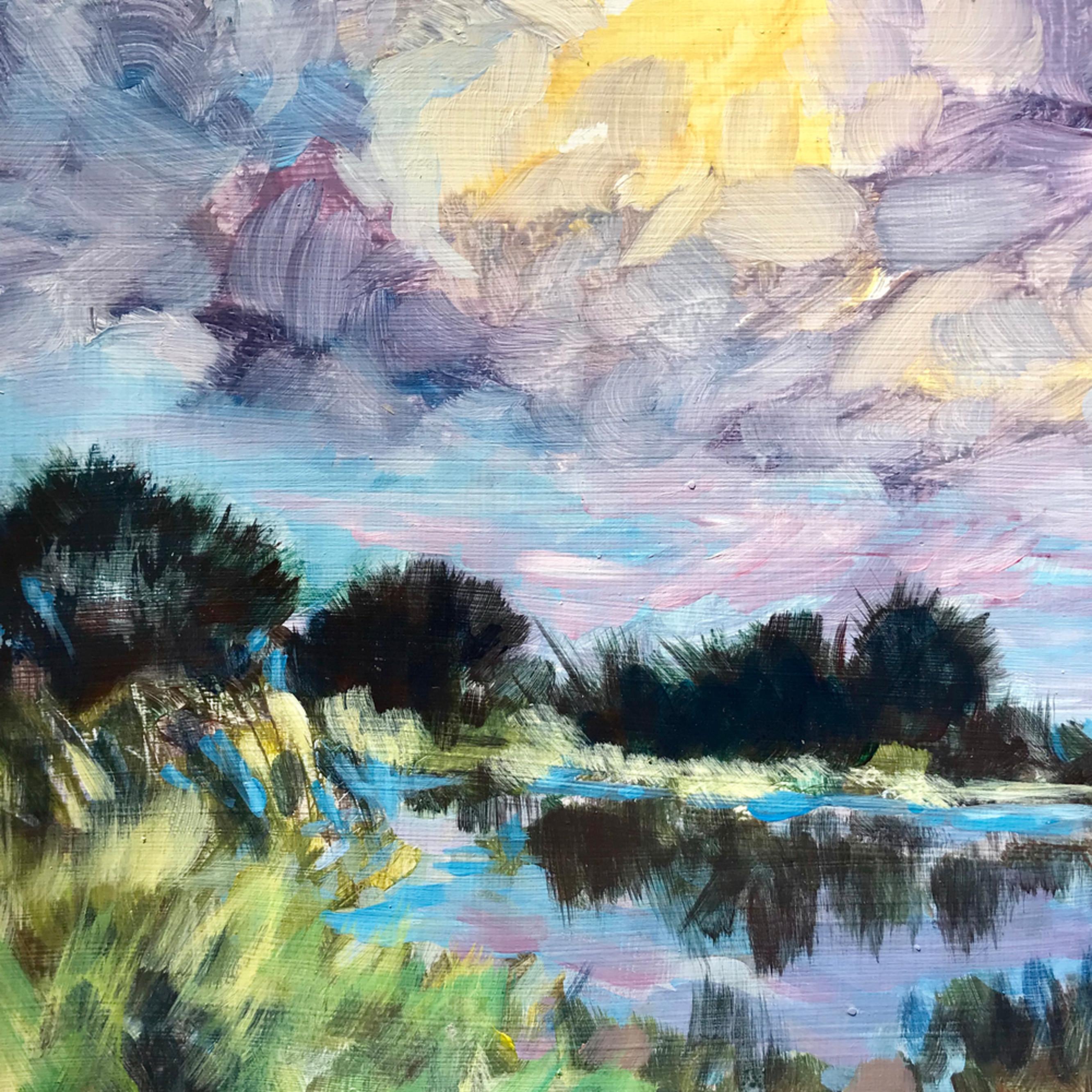 Holtb marsh scene acrylic 9 x 12 hicvnr