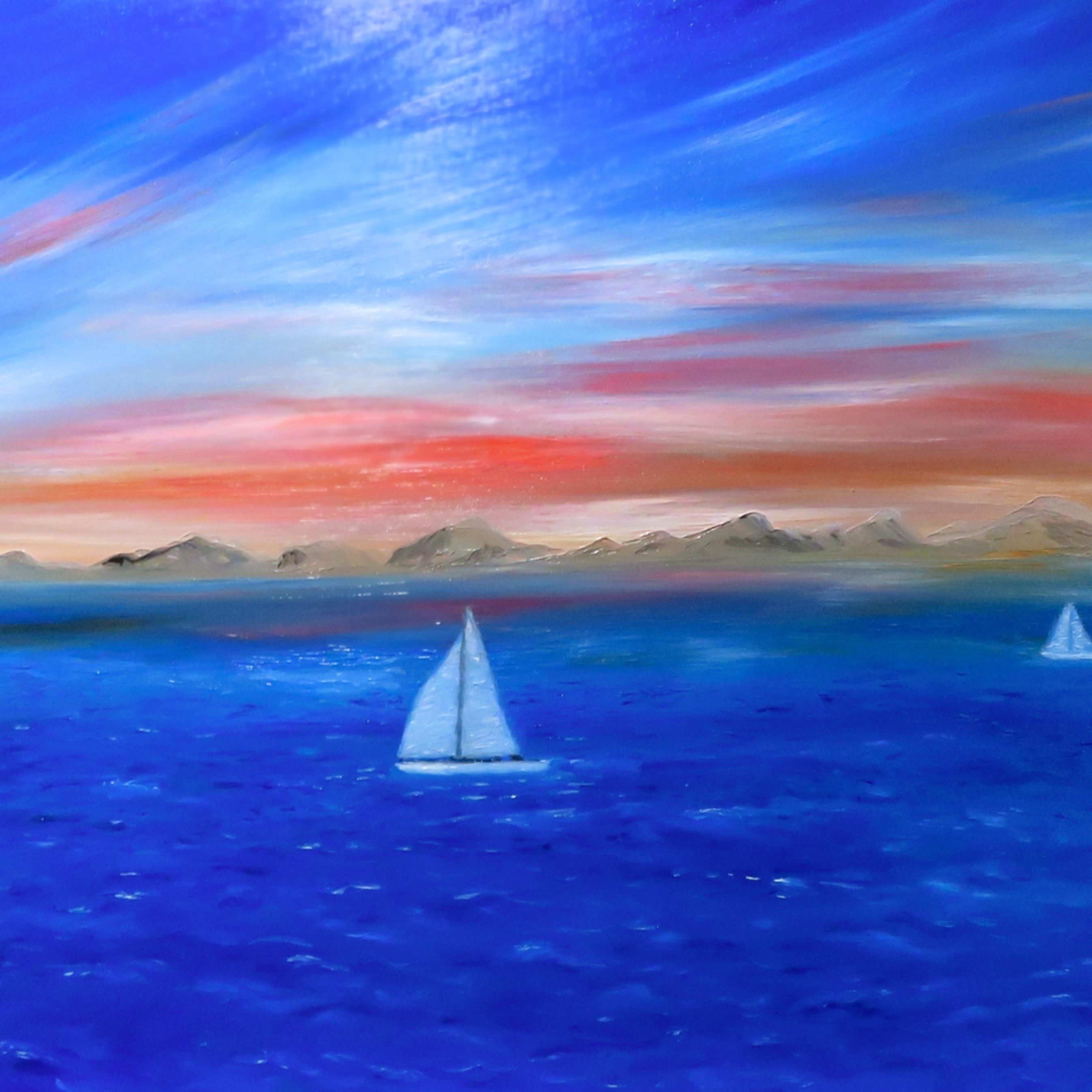 Sailing the coast inpixio2 cfdals
