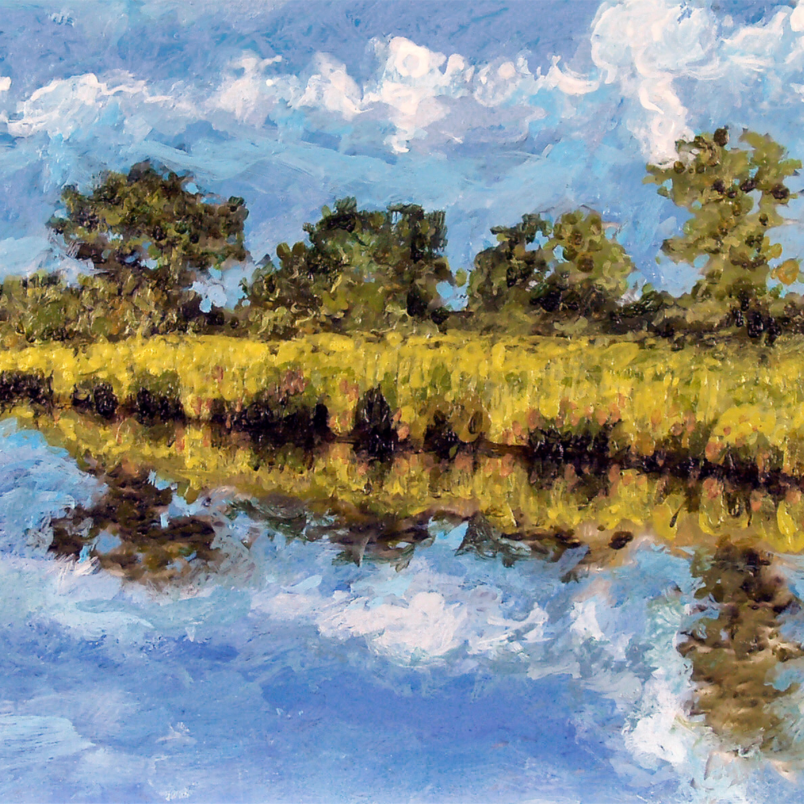 Southern reflections 12x9 t7id2l