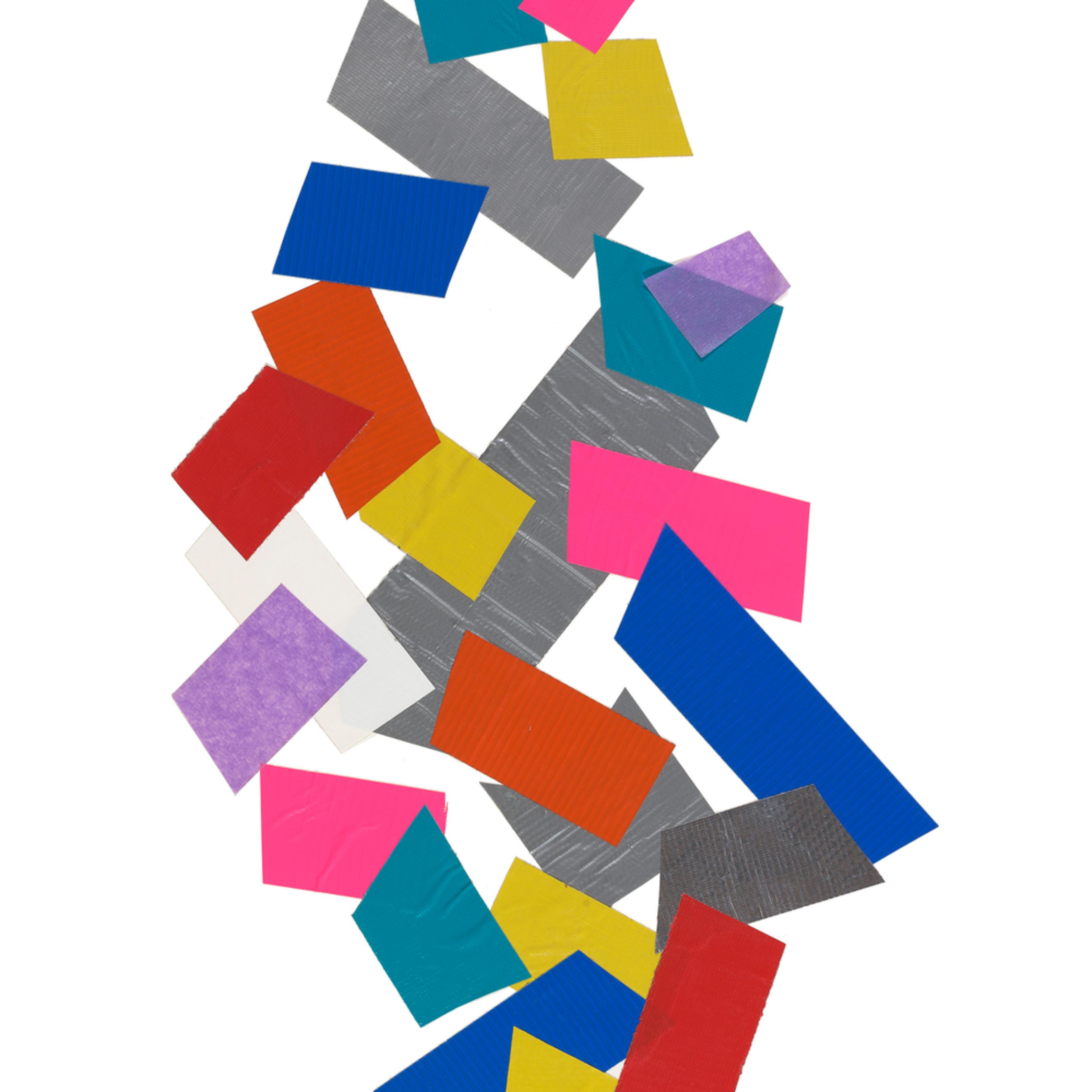 Tumbling colors 18x24 print xsjgqn