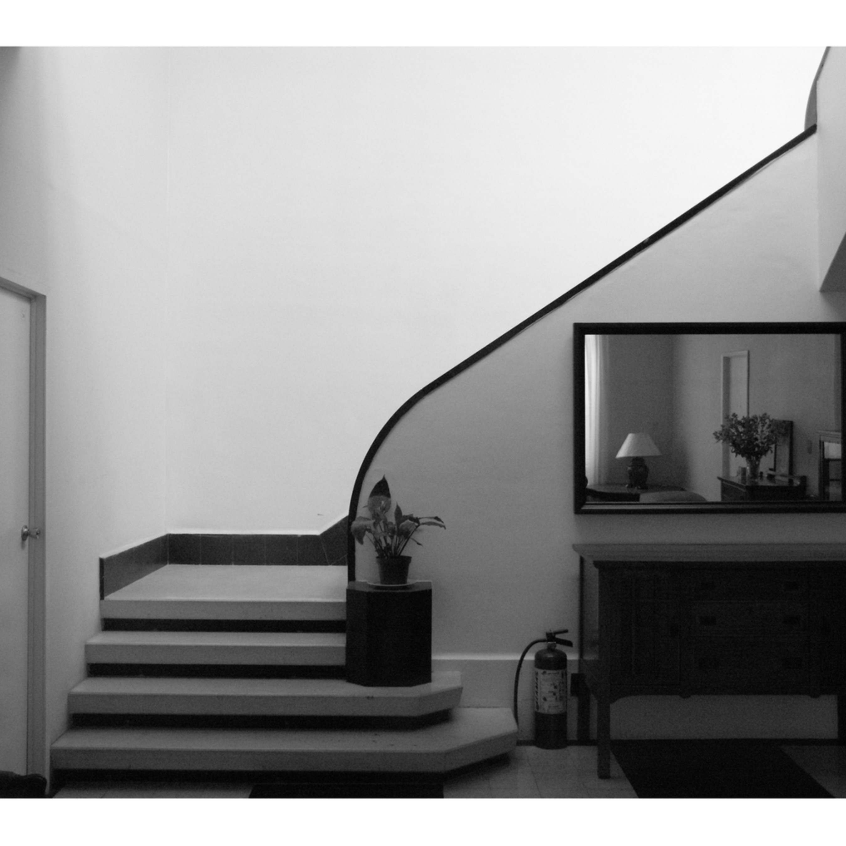Mexico city b b stairs 9x12 rzmrym