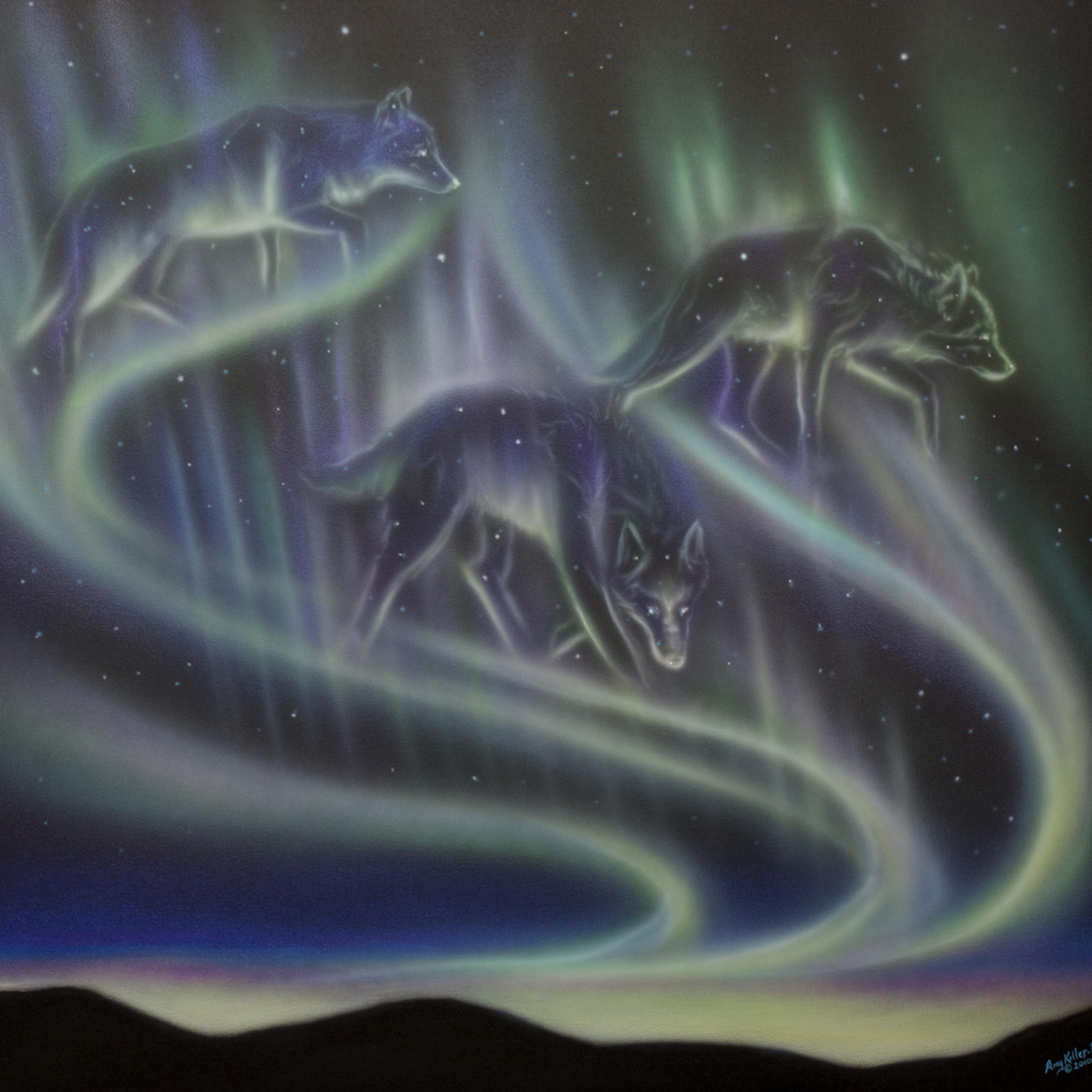 Skydance wolves ezpaal