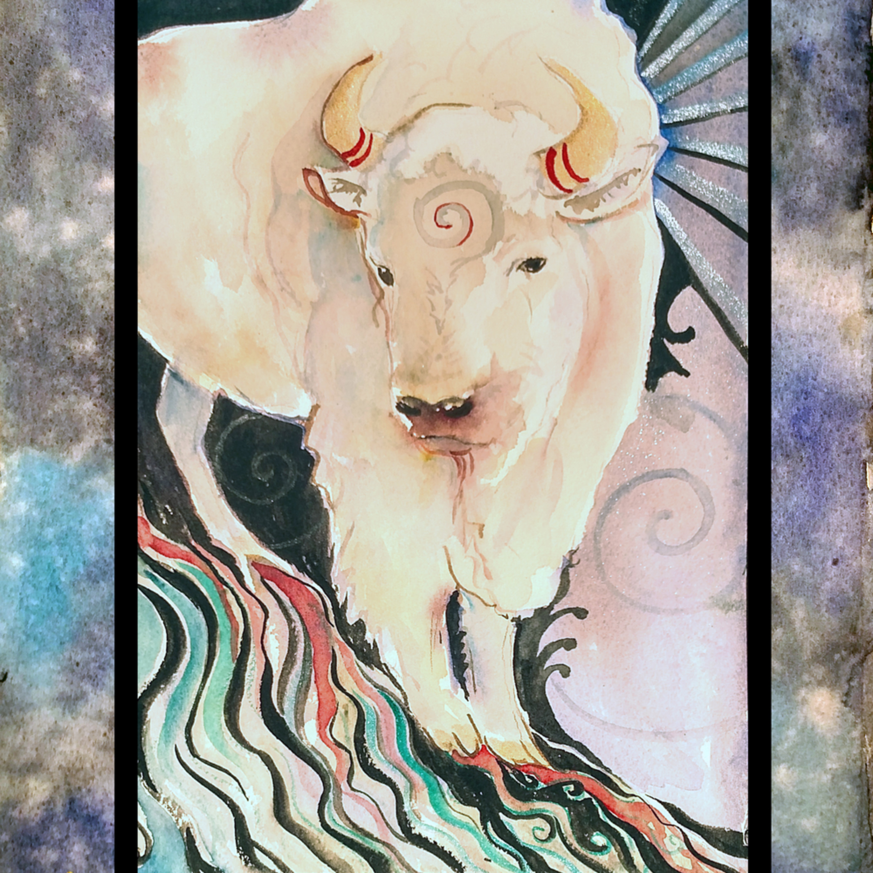 Spirit buffalo with mat y9hygx
