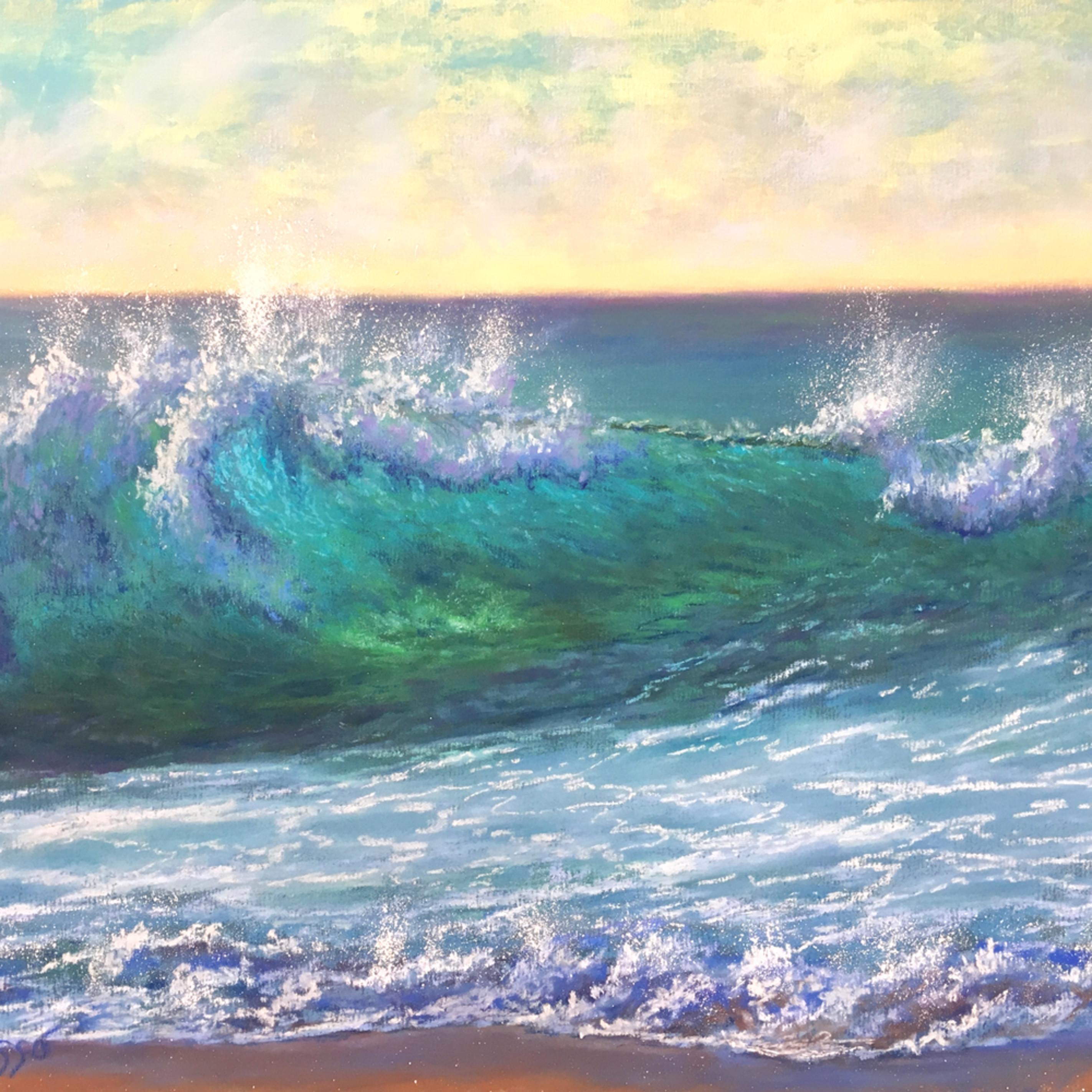 Turquoise morning surf czpkkx