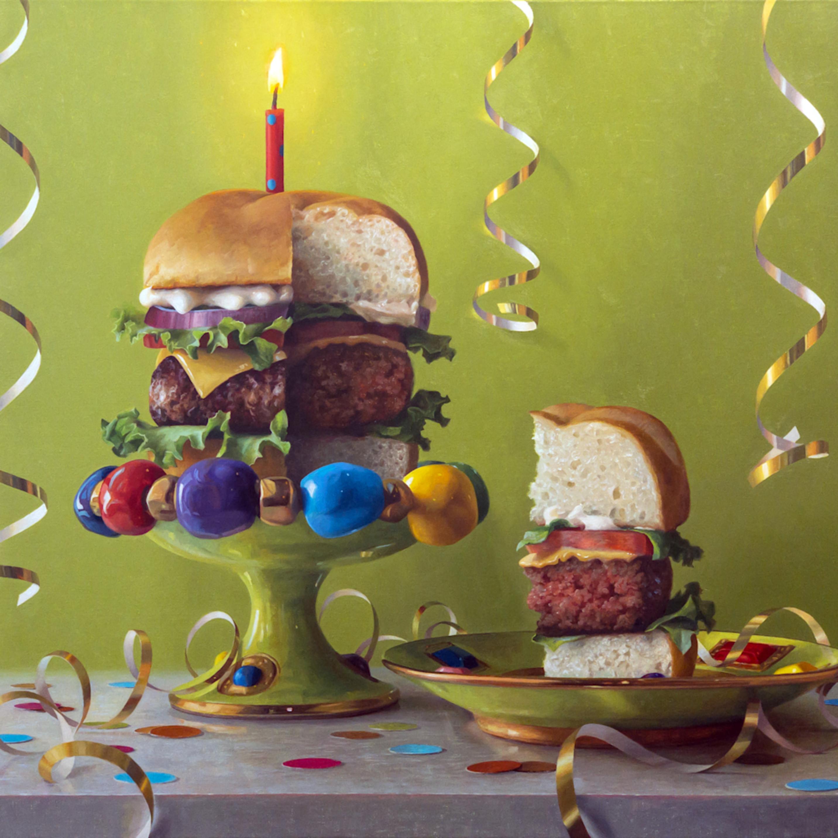 Carols birthday burger r5omng
