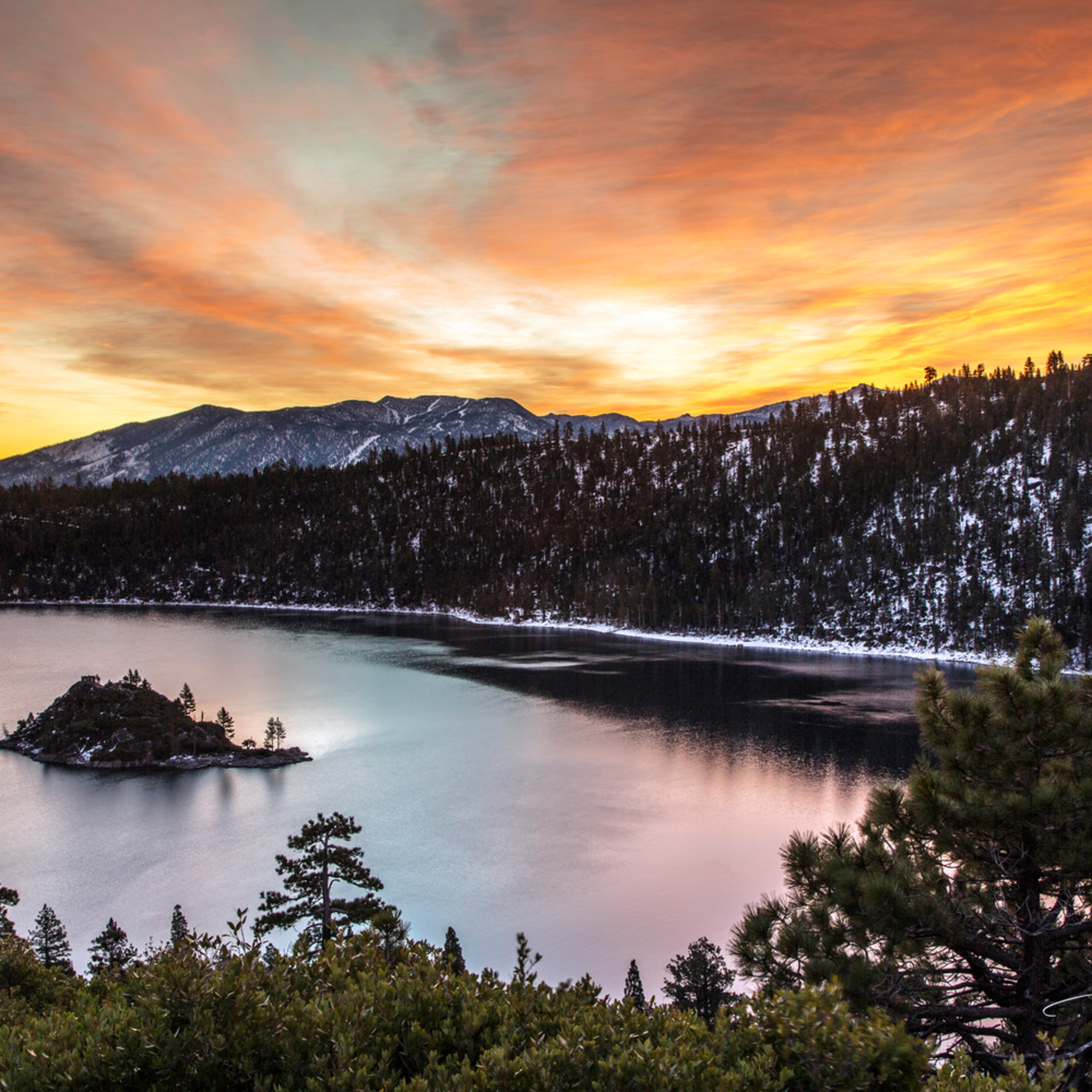 12x18 emerald bay sunrise yt6vpe