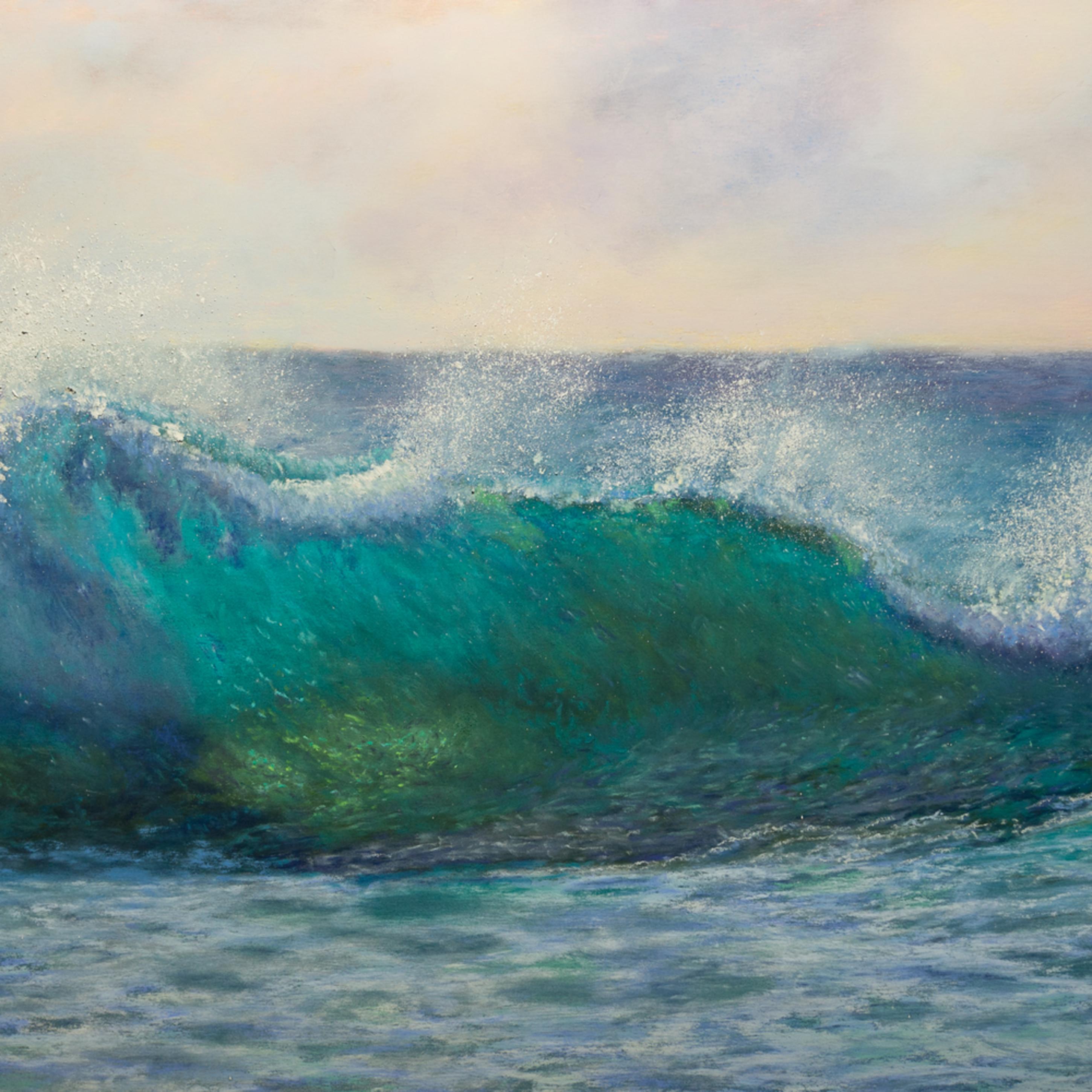 Turquoise morning surf 2 tuno2j