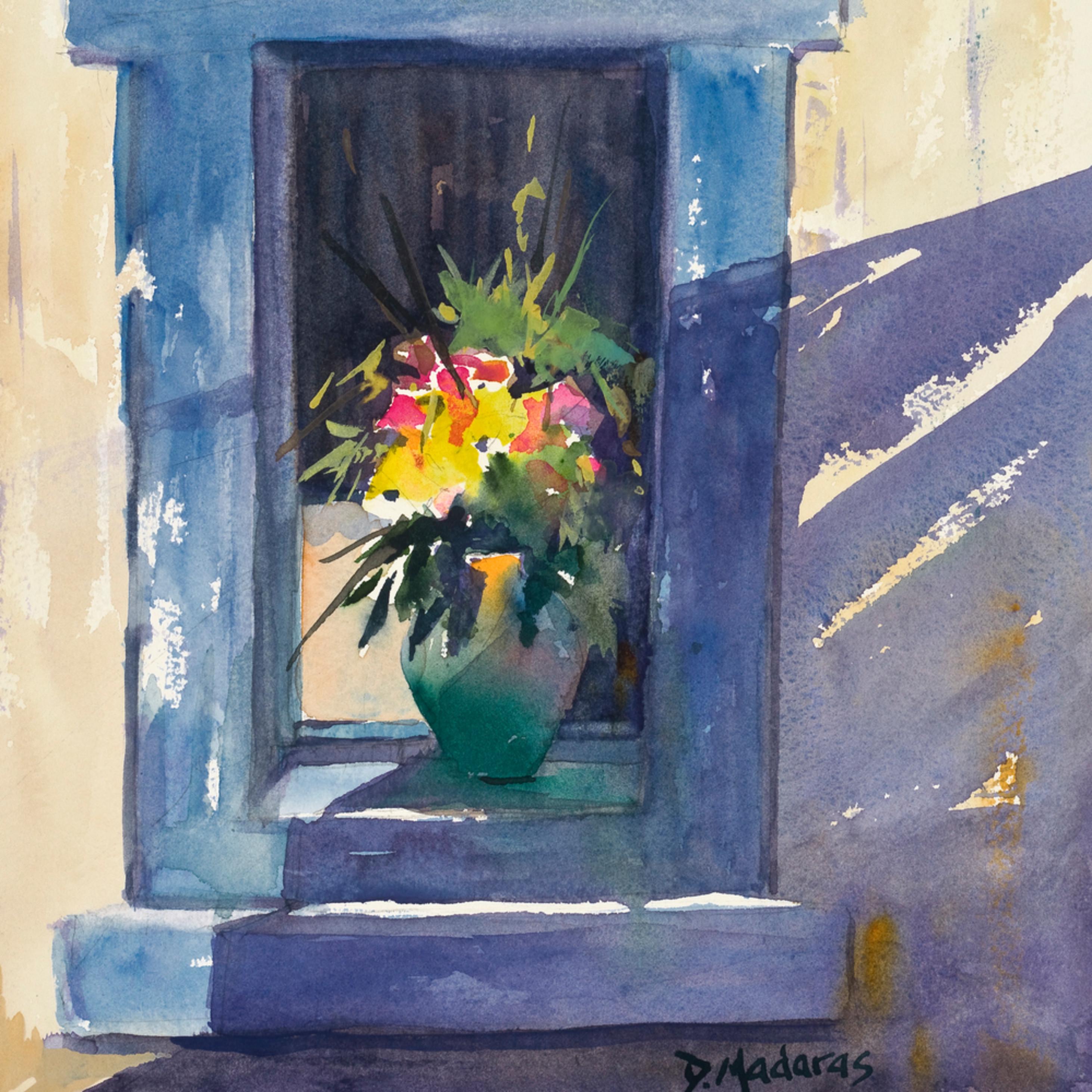Pot in the blue window xxg hbdewi