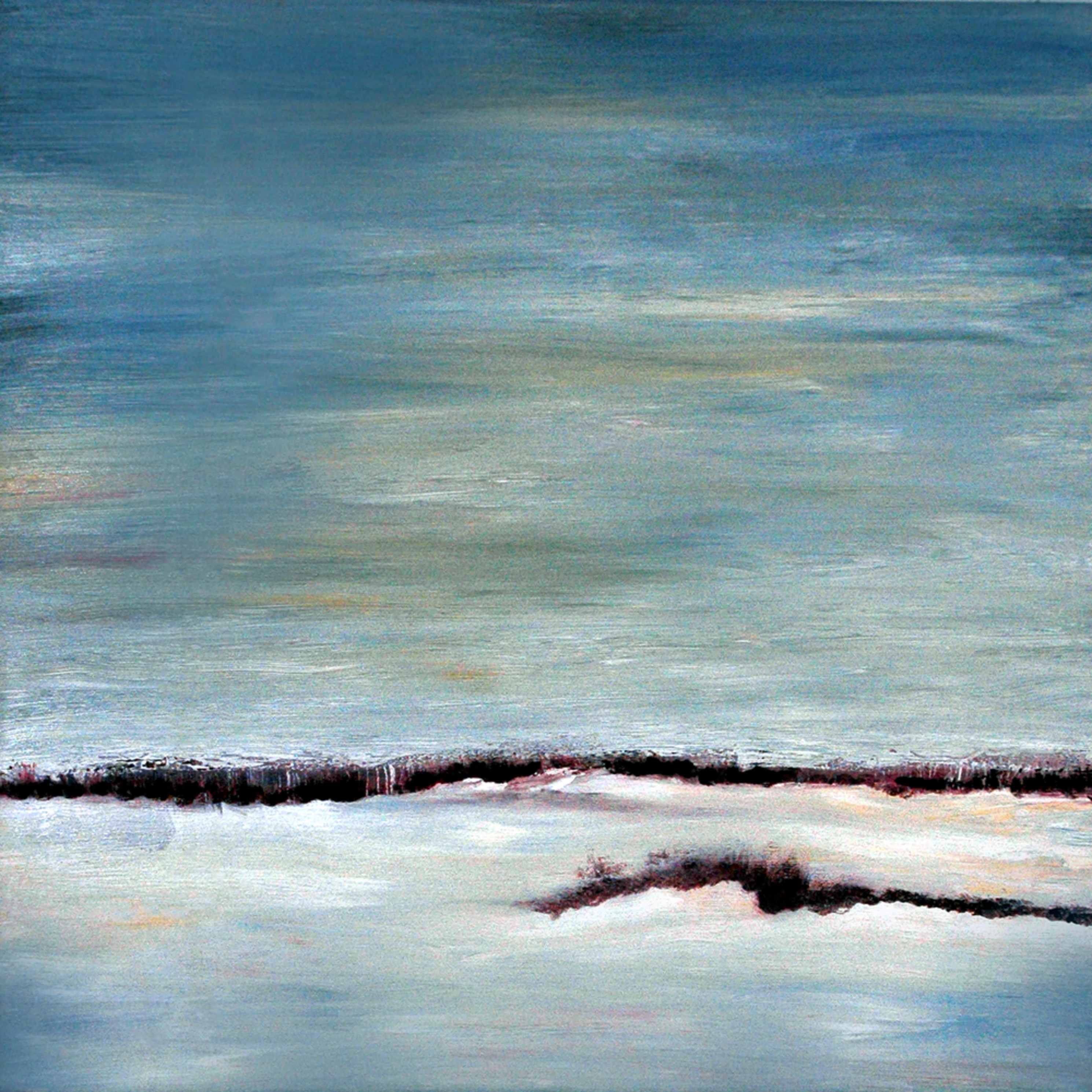 Ontario winter landscape   oil on canvas   20 22 x 20 22 xcnvve