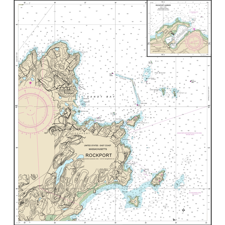Nauticalmap 13279b rockport kn2wwo
