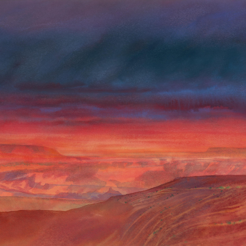 Marilynresnasky distantblue watercolor asf2 usjzbl
