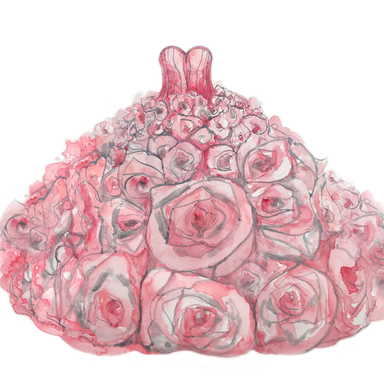 Rose dress 10 x 10 das k80qjl
