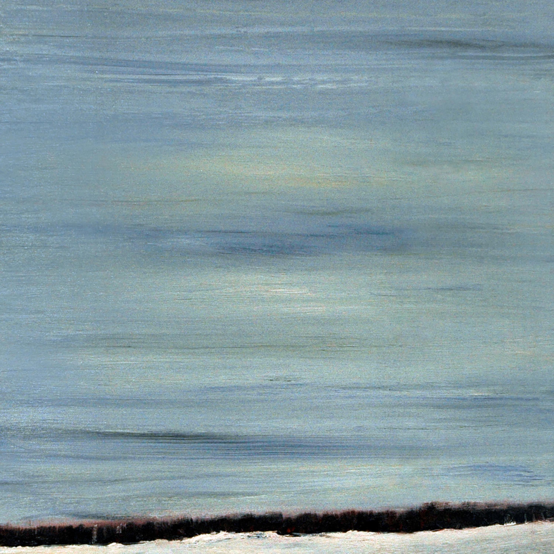 Ontario winter sky   oil on canvas   20 22 x 20 22 abumhy