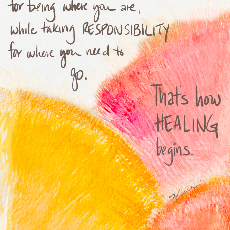 How healing begins hydige