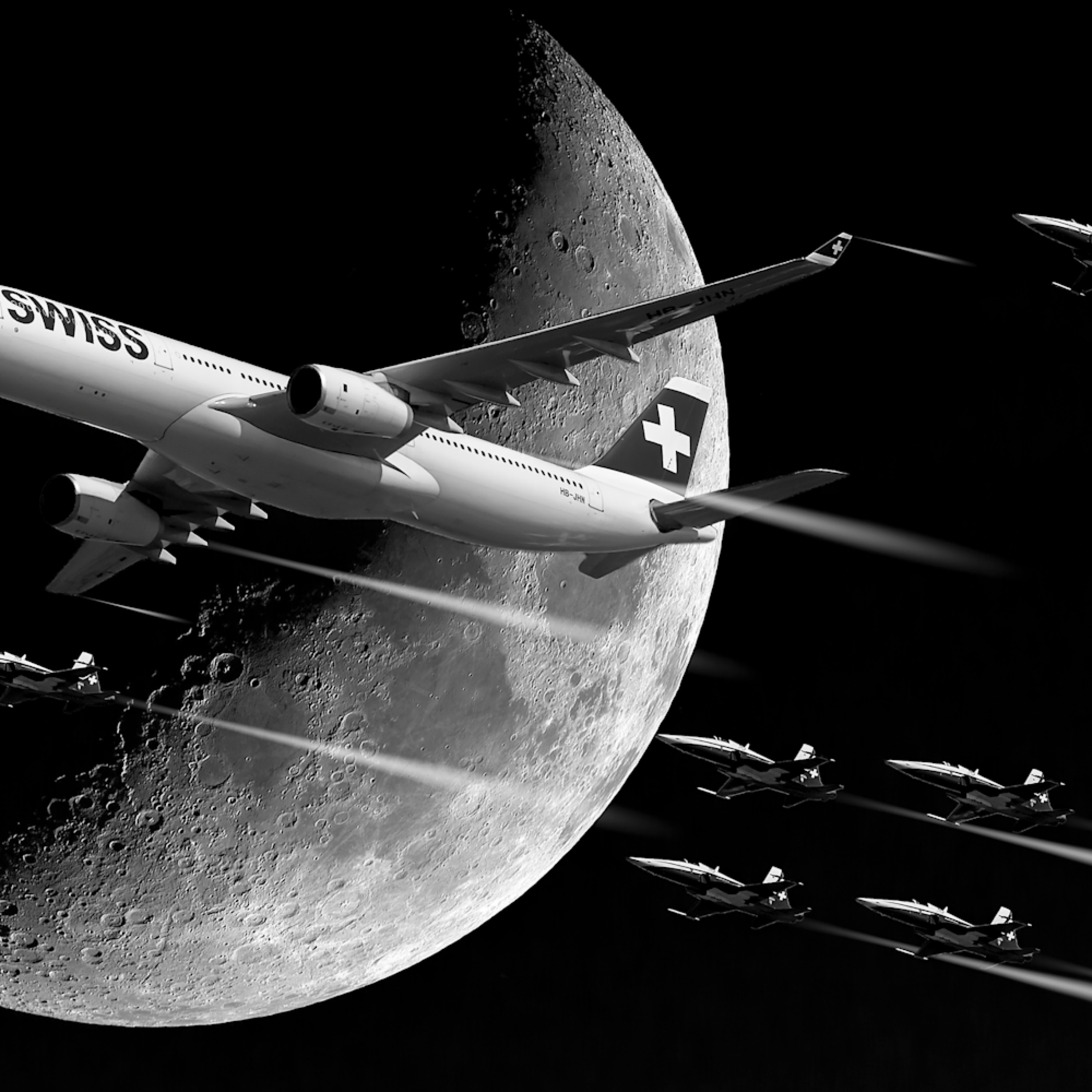 Fly over the moon mi94it