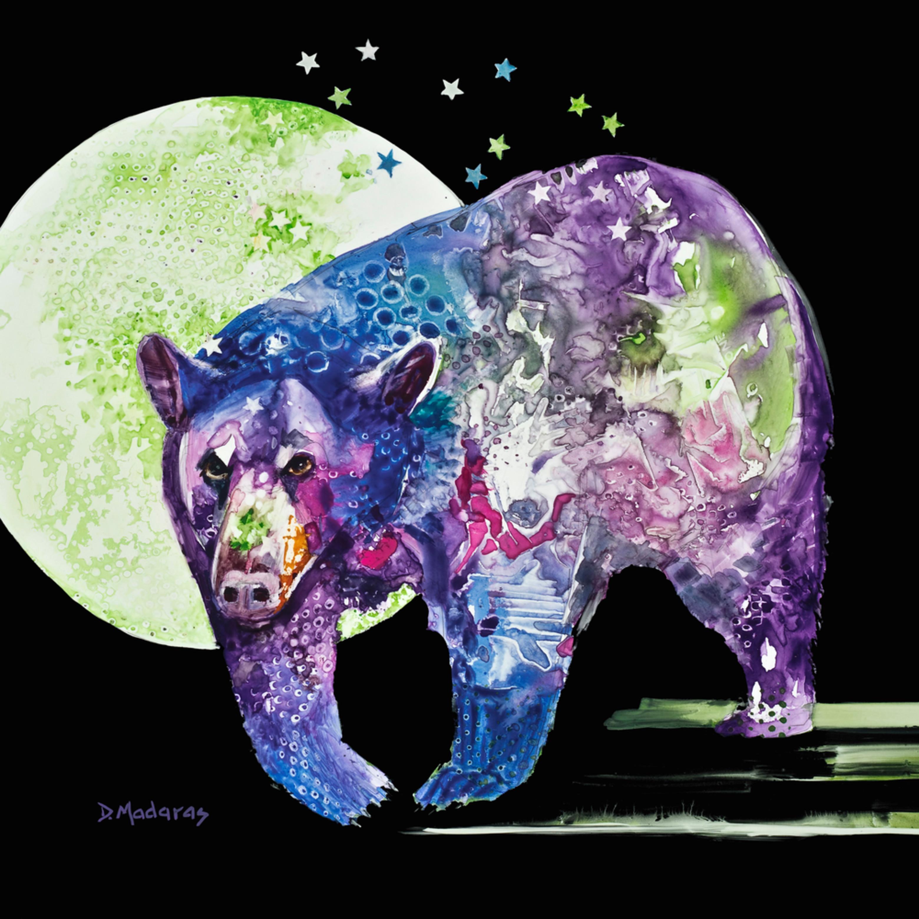 Bear down 16 x 20 xxsp x0odln