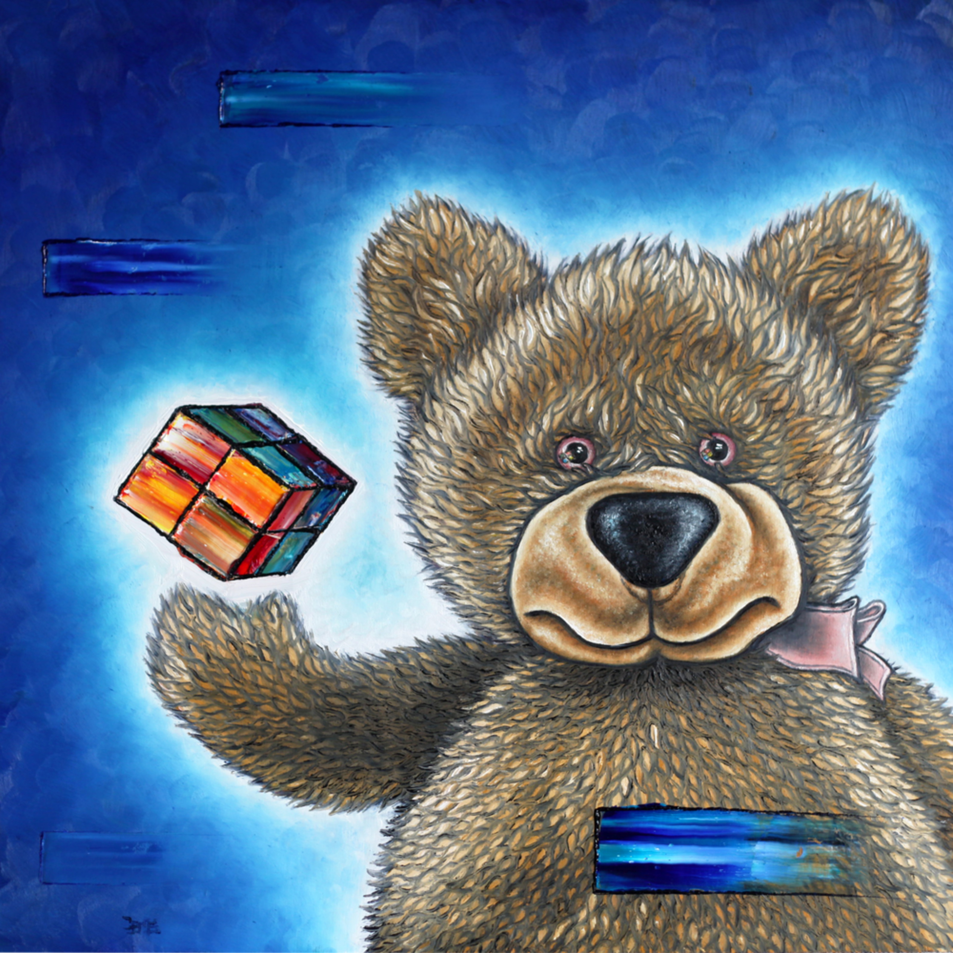 The little bear discovers the secret r8k2ii