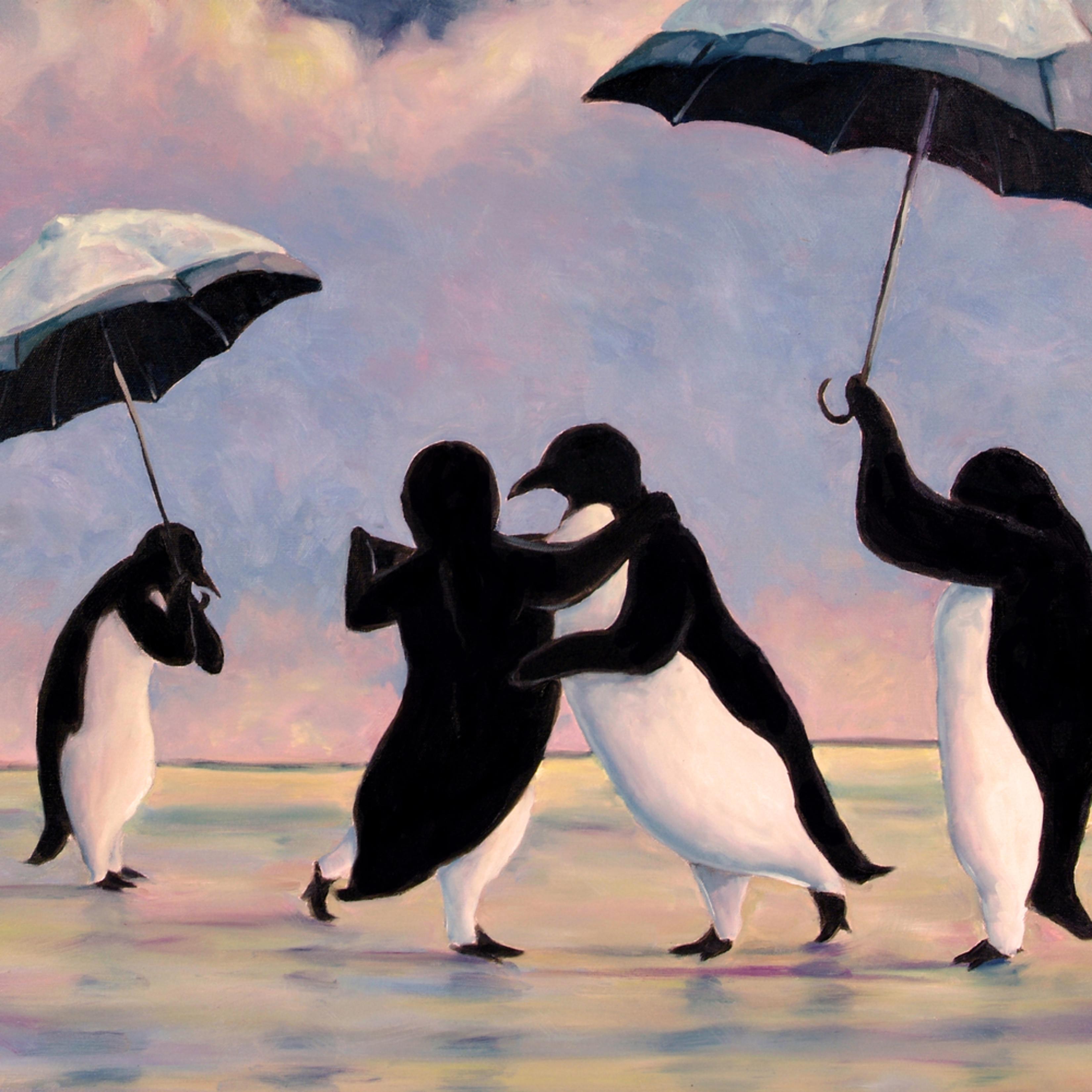 Giclee 11x14 vettriano penguins 11x14 se4sfj