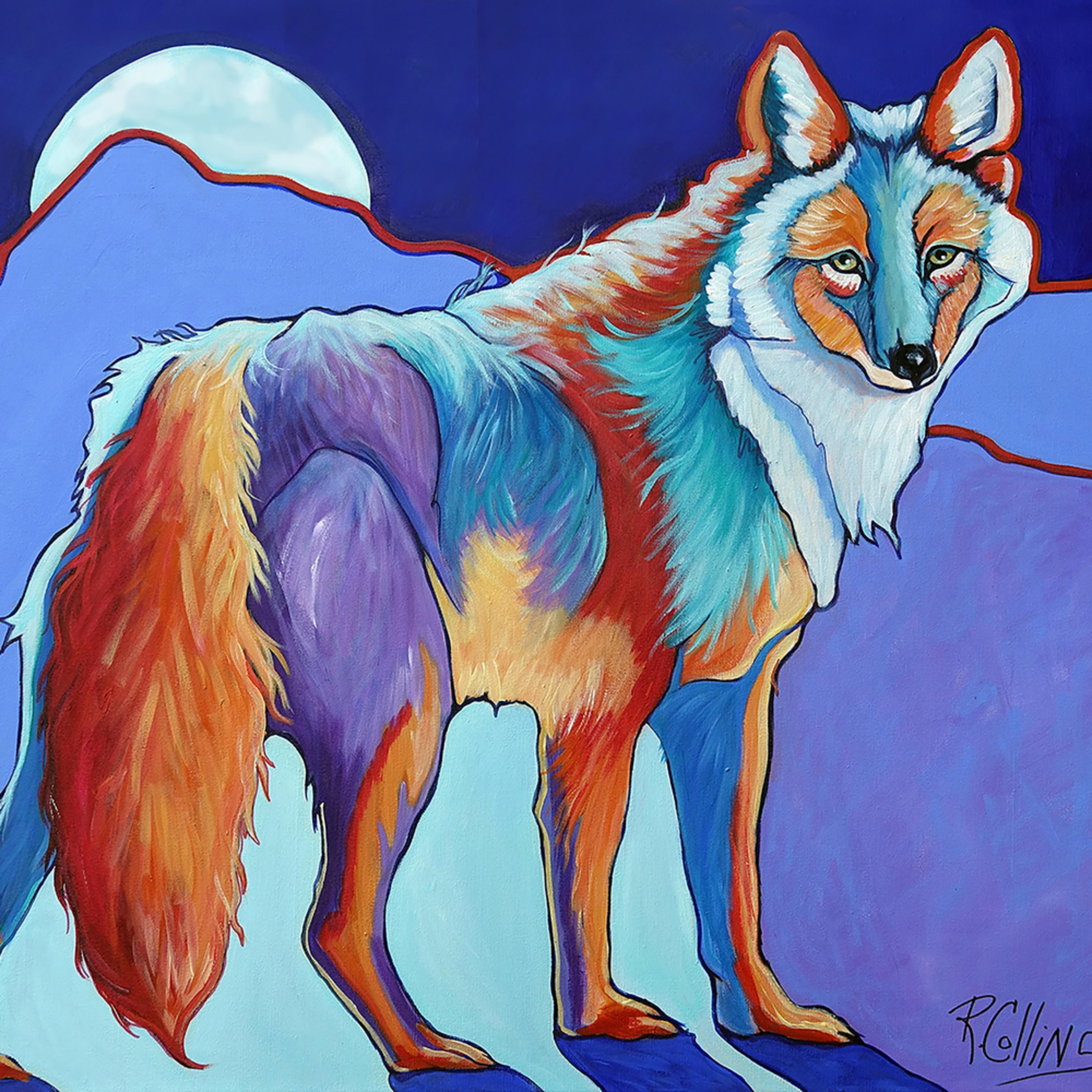 Coyote art store print fzof9y