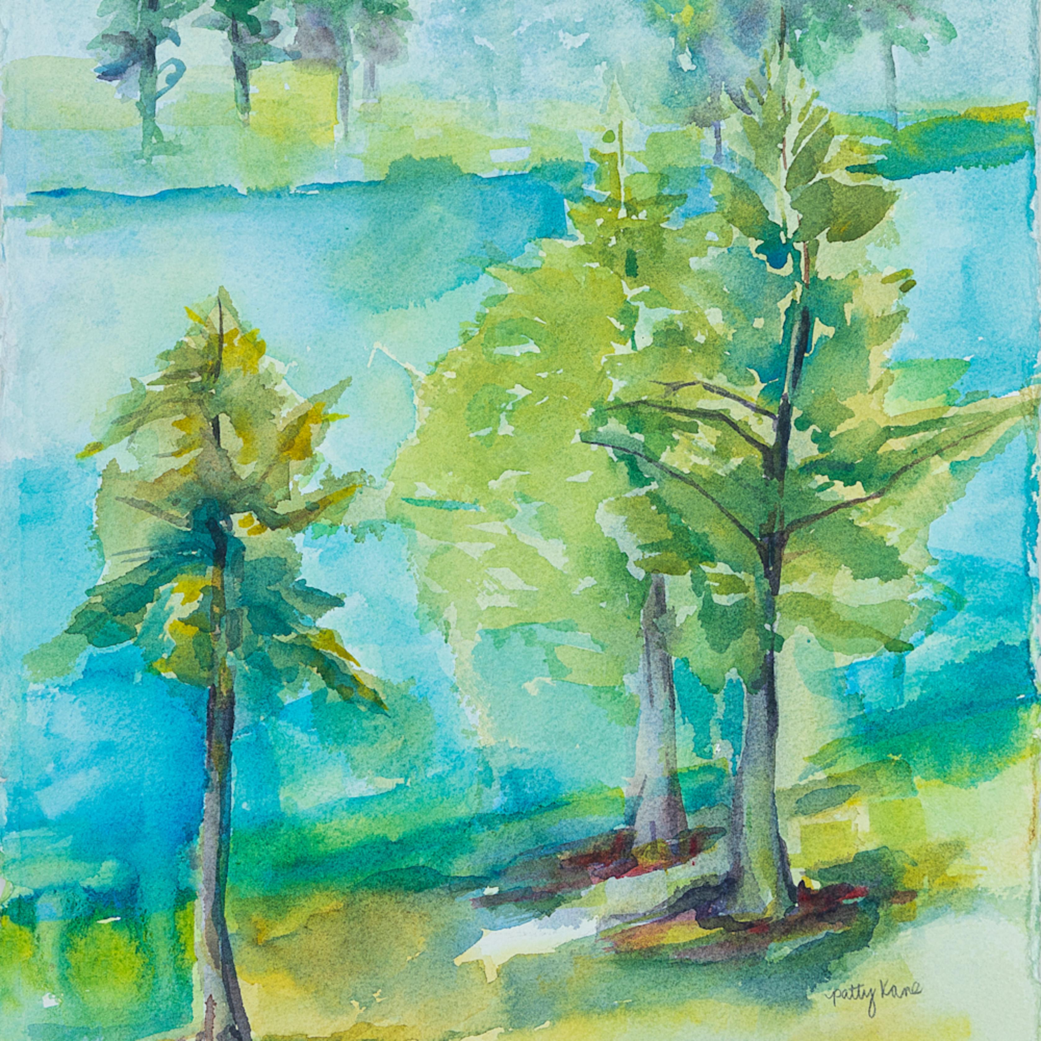 Lakeside trees ii gyilvv