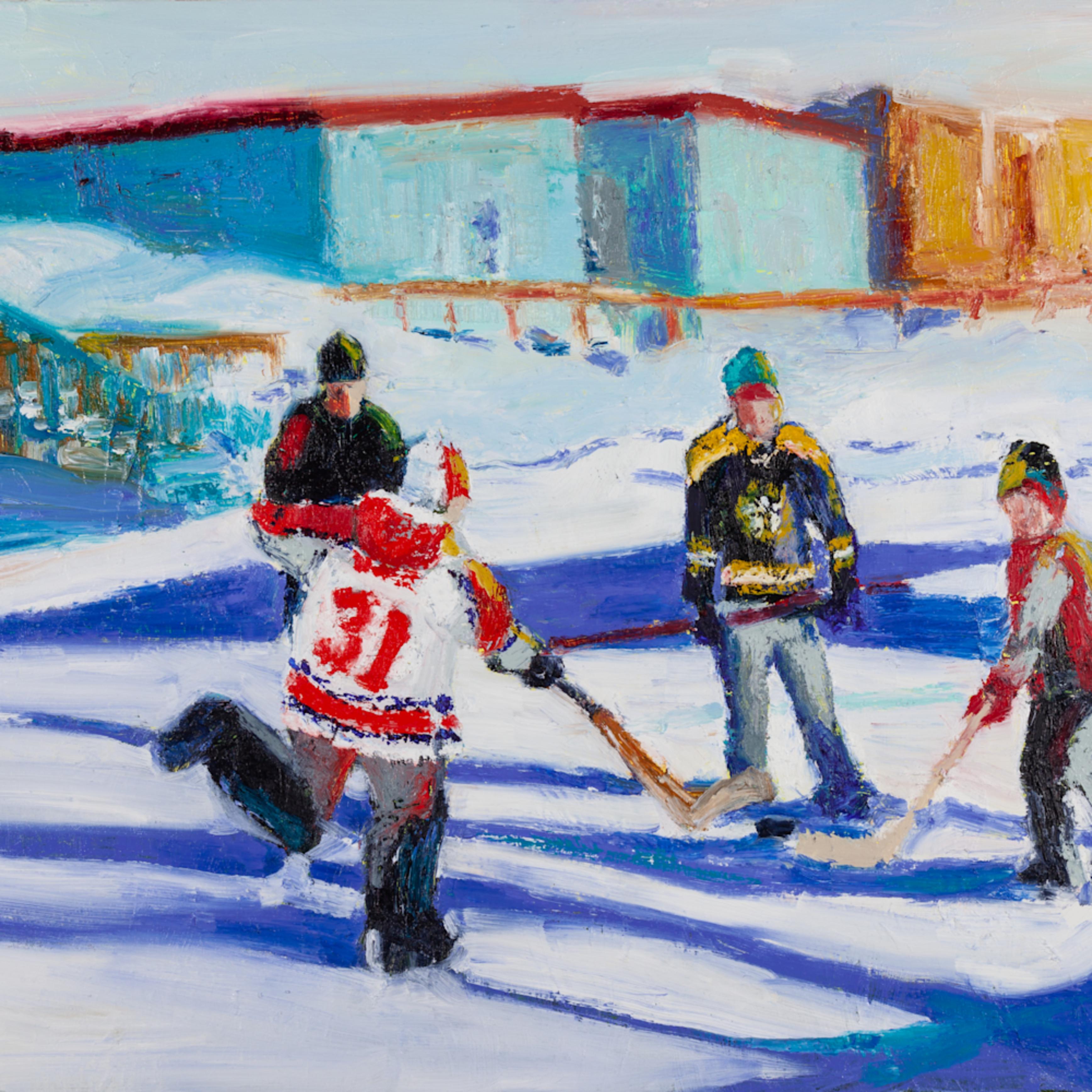 Hockey scene 2 sandra boorne q20pgs