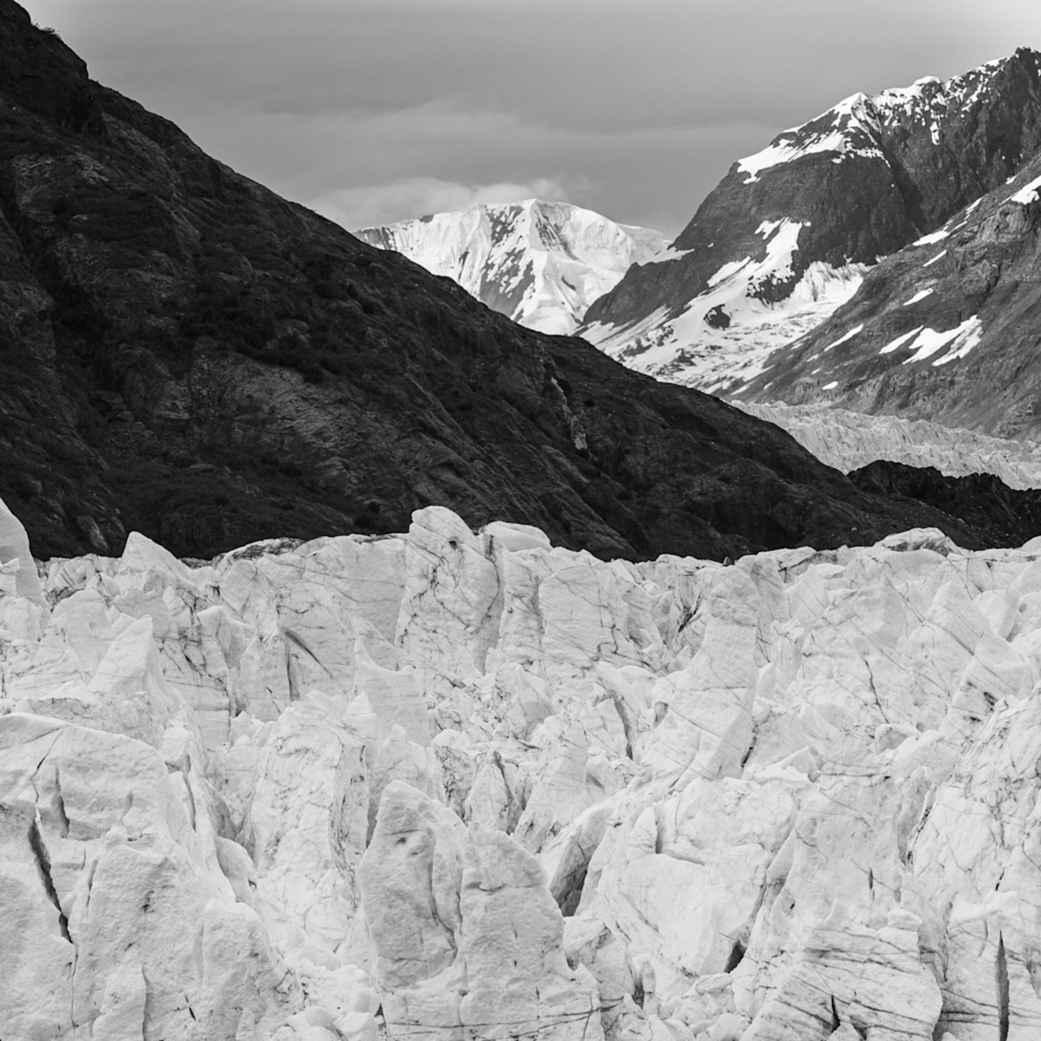 Glaciers and mountains alaska ked46k