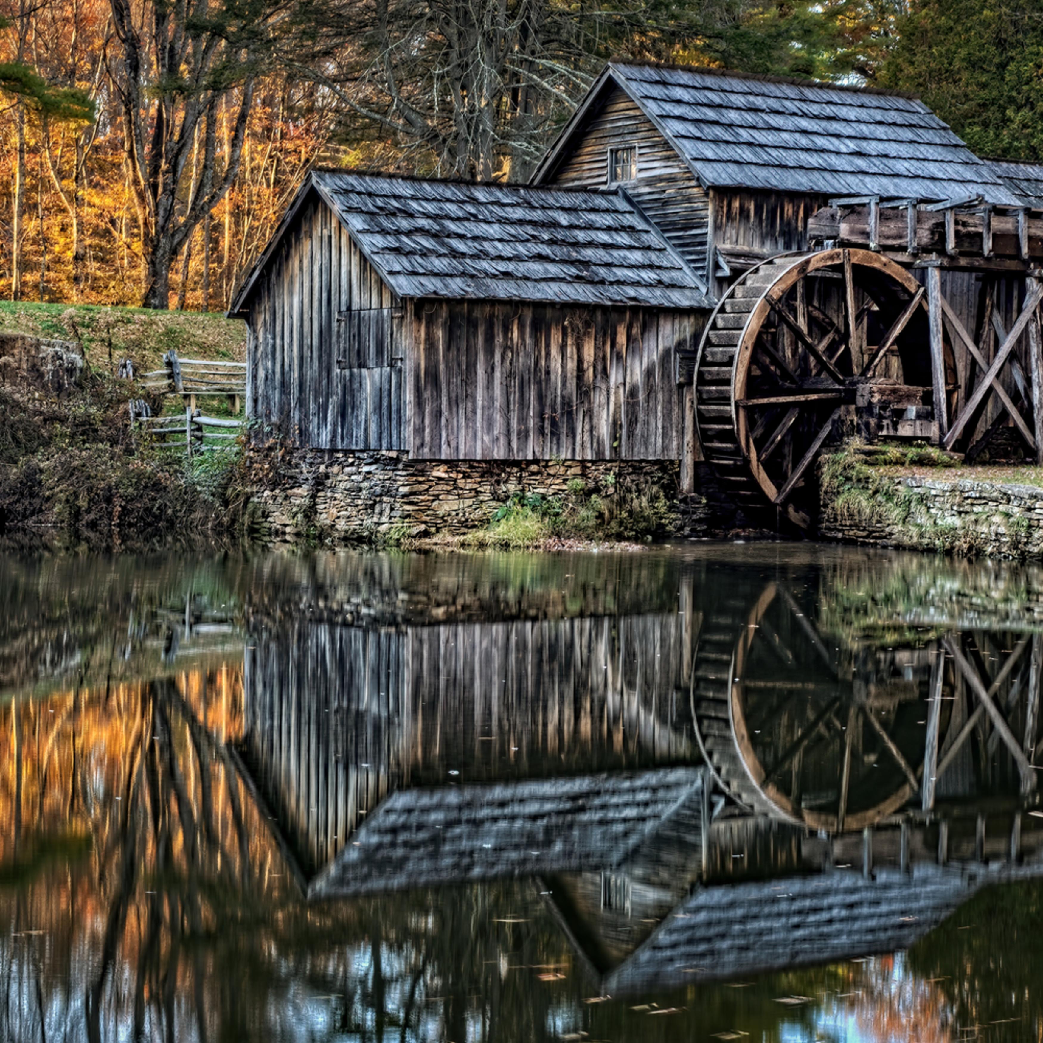 Fall colored mill a qj38ir