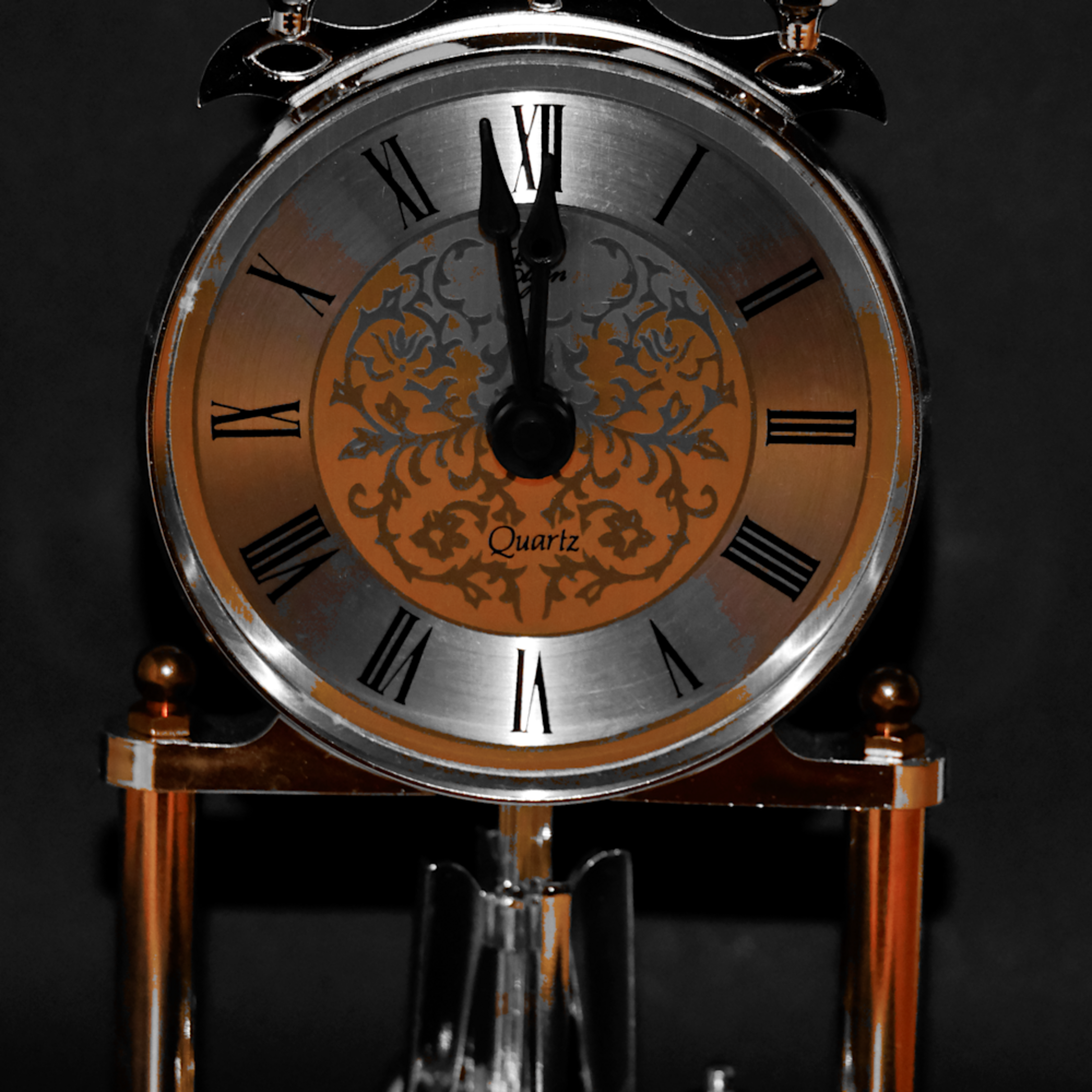 Clock   selective coloring hxx0dd