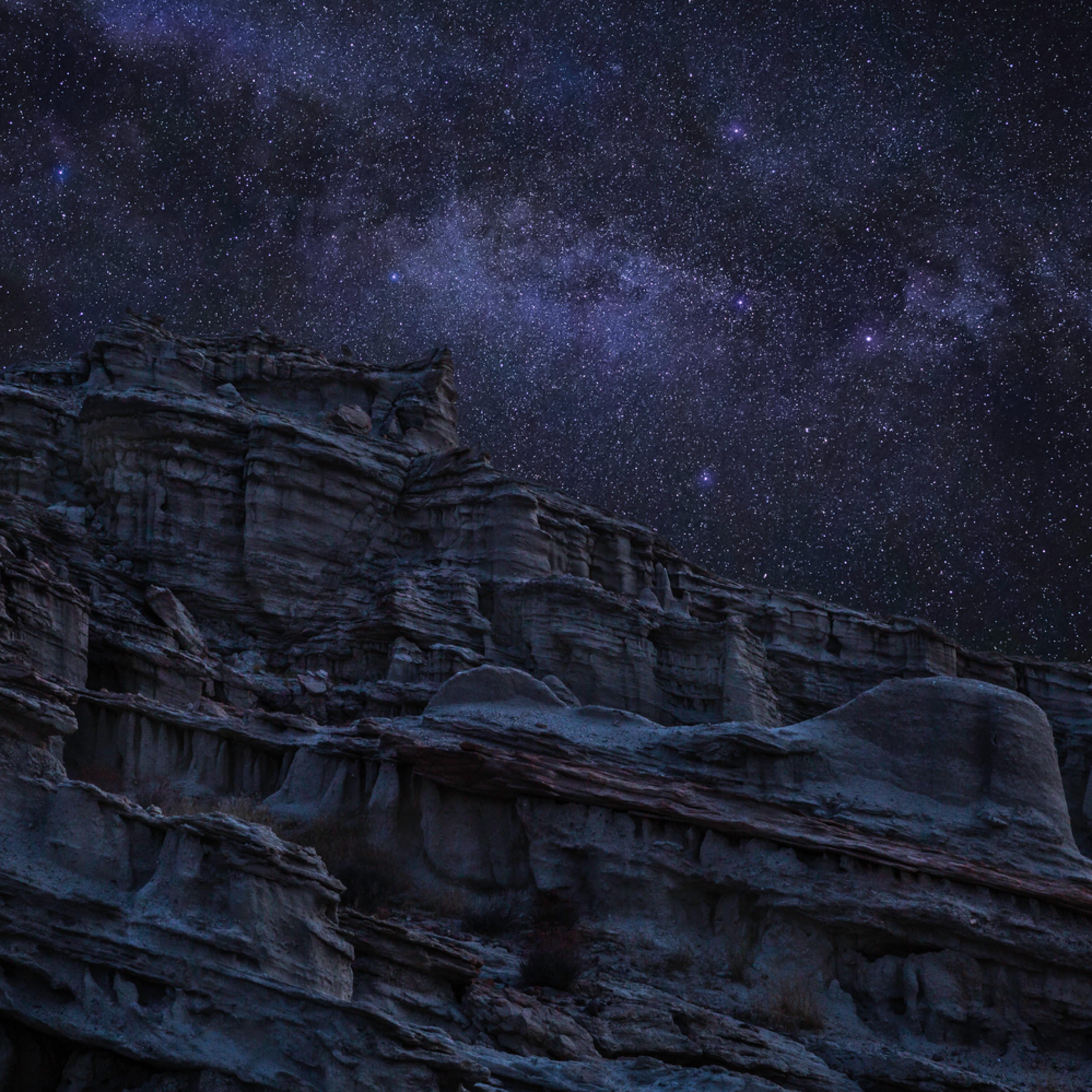 Deserted moonscape tscsnk