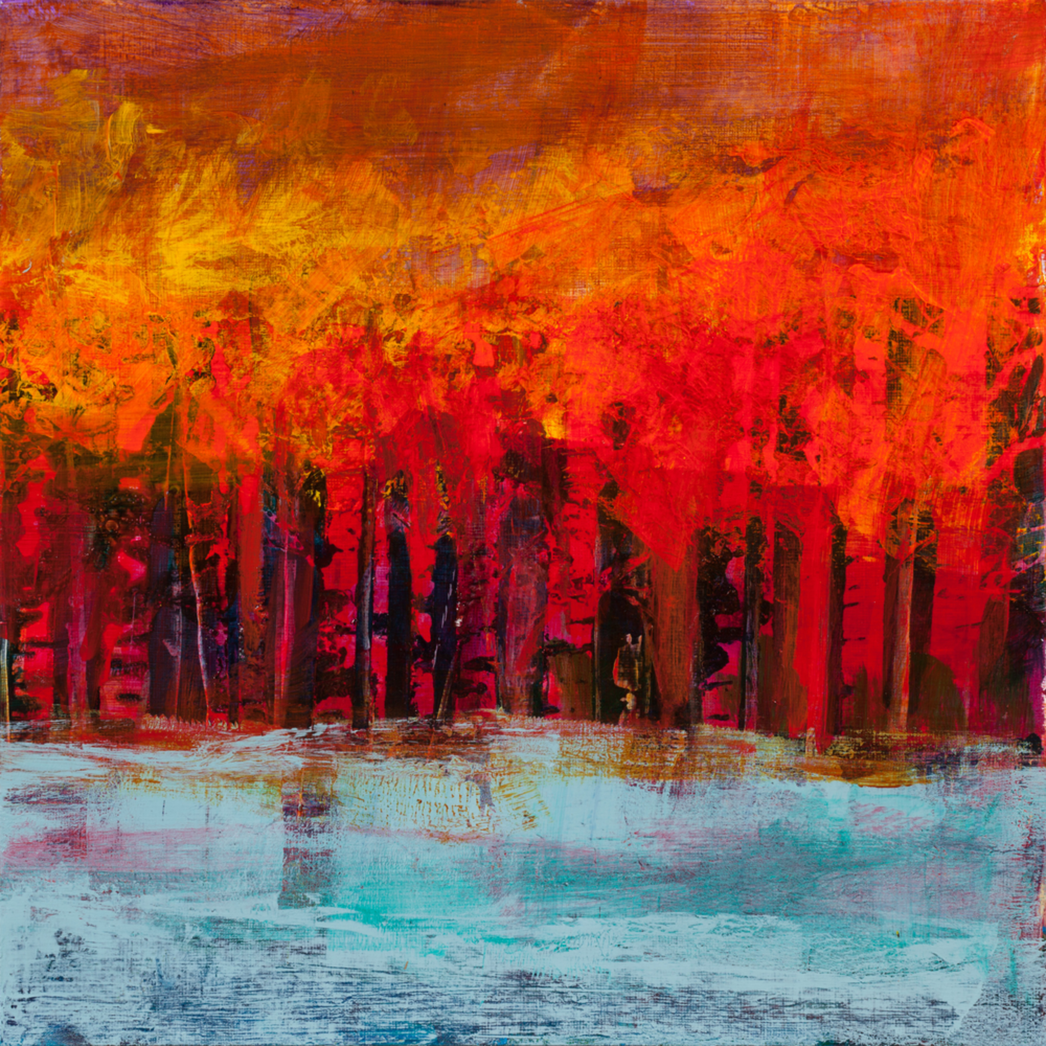 Abstract landscapes magical shift i tracy lynn pristas commissioned artist apquz1