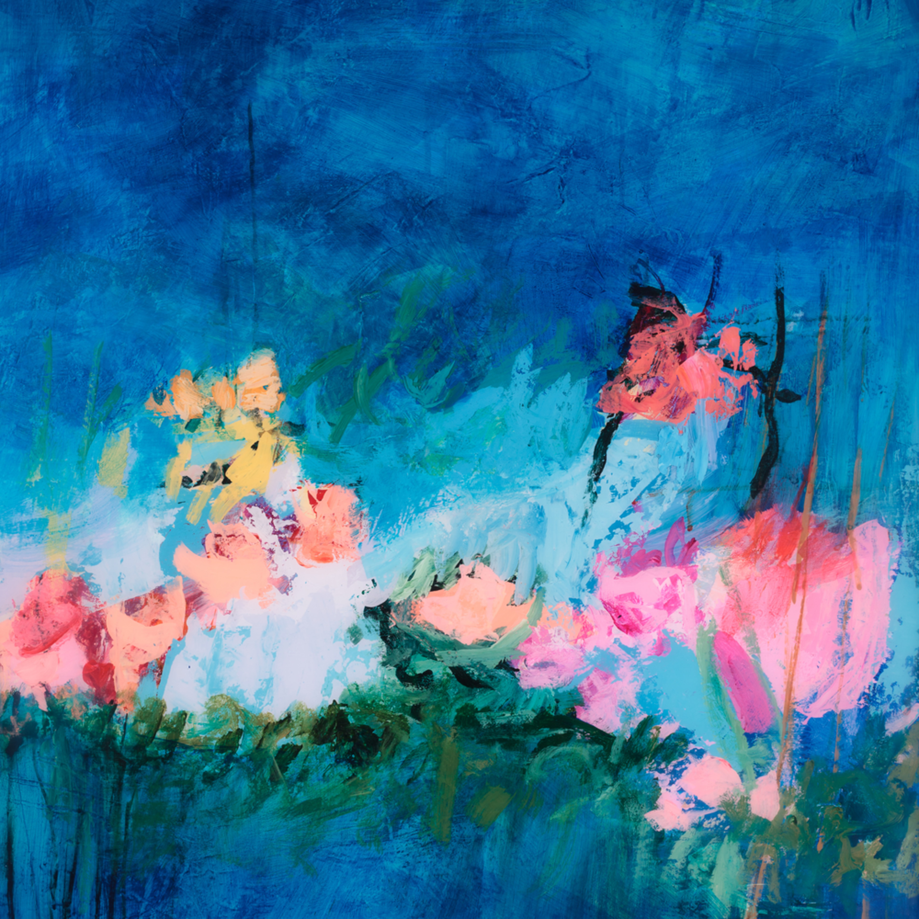 Tracy lynn pristas abstract floral artwork pgitkg