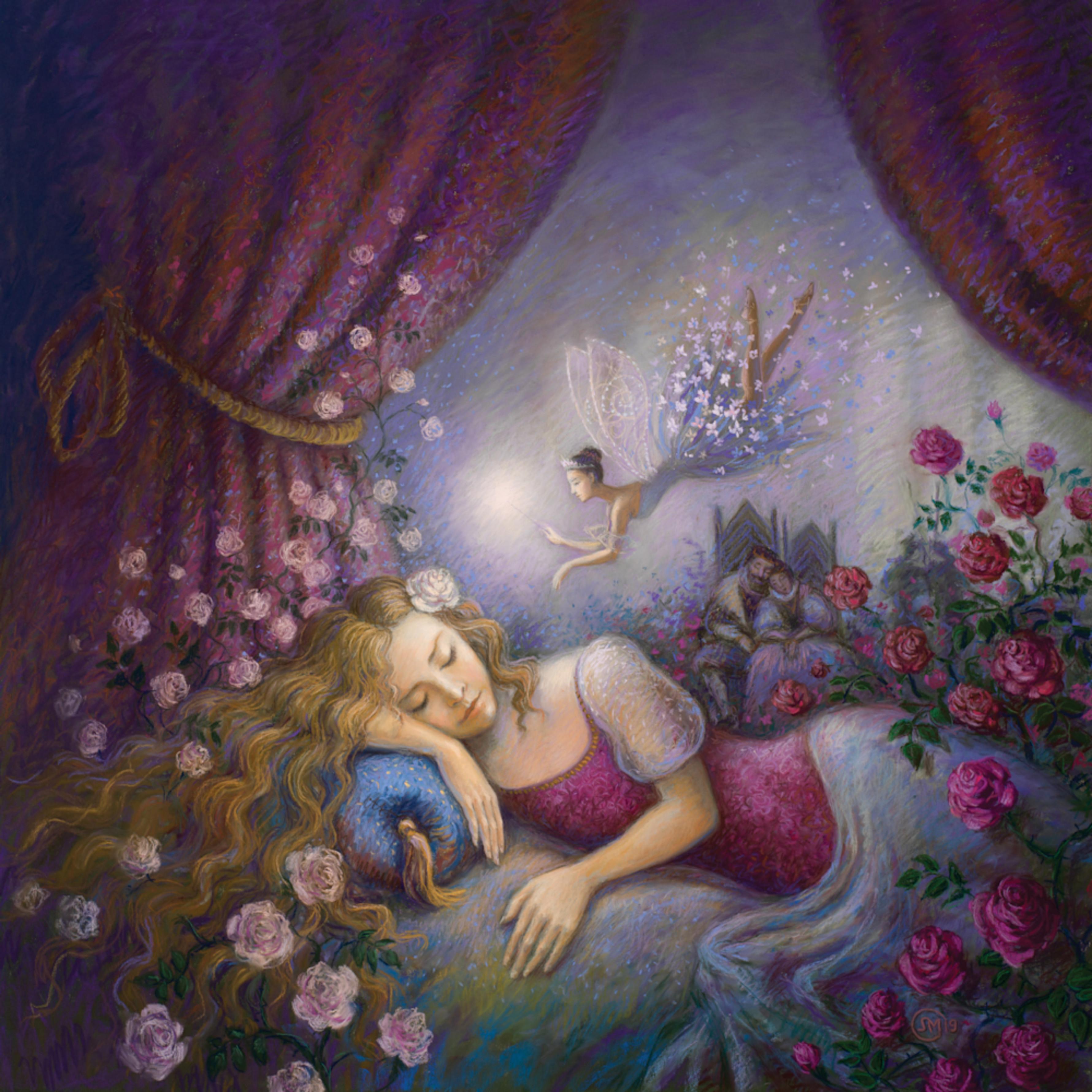 Sleeping beauty 2019 lyubabogan pastel an6xoa