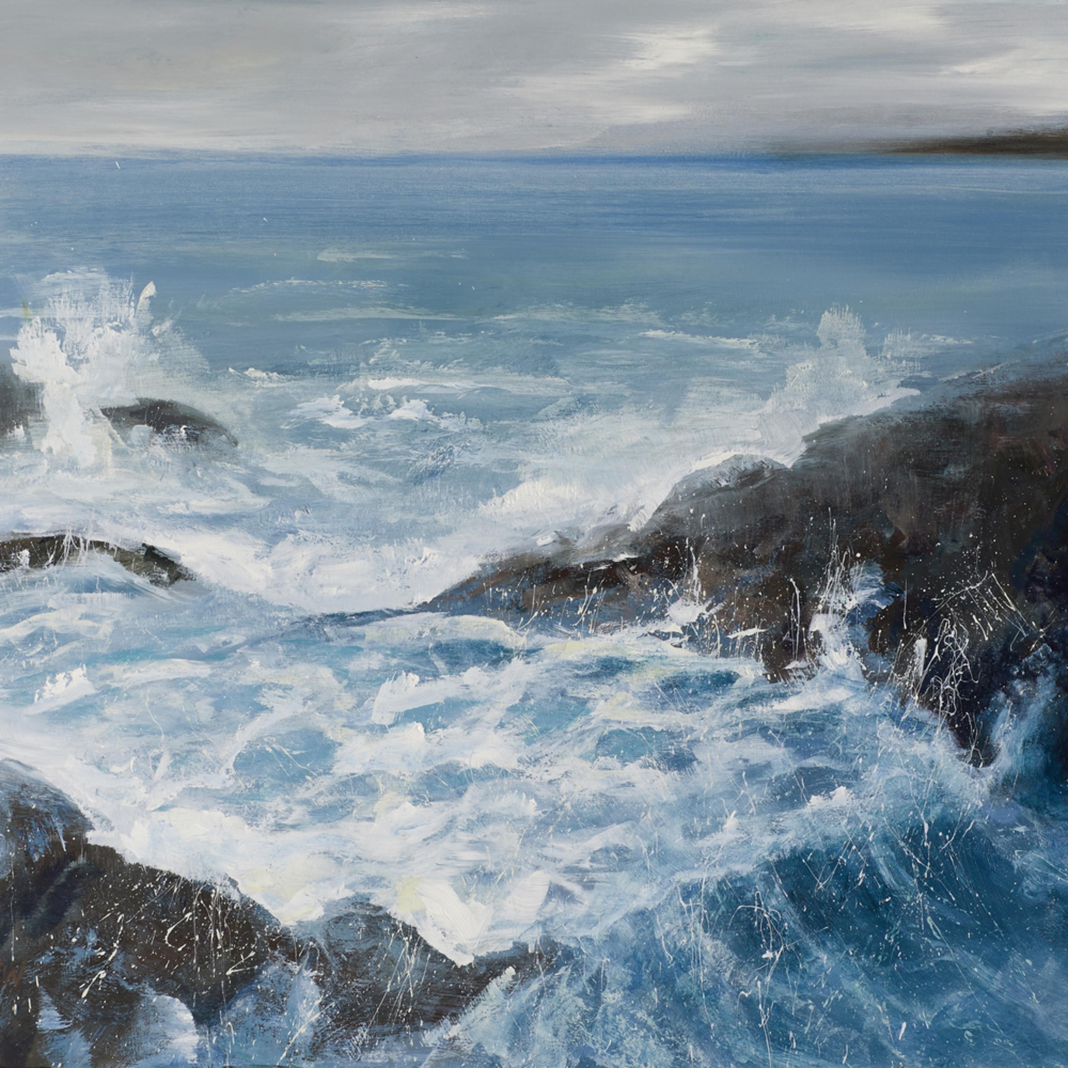 Waves at acadia great head trail 2 oyem2i