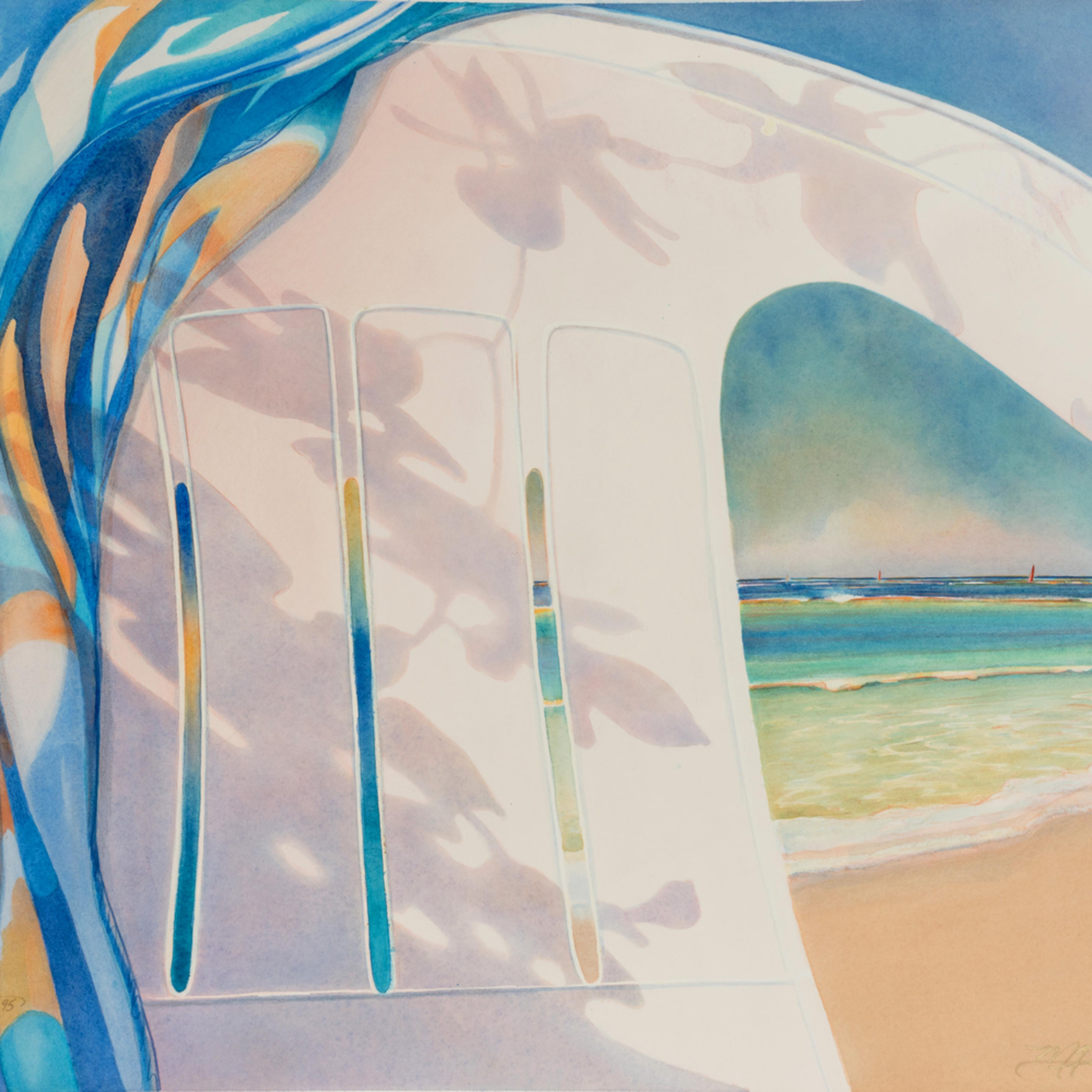 Marilynreanasky redsailandshadow watercolor grksz8