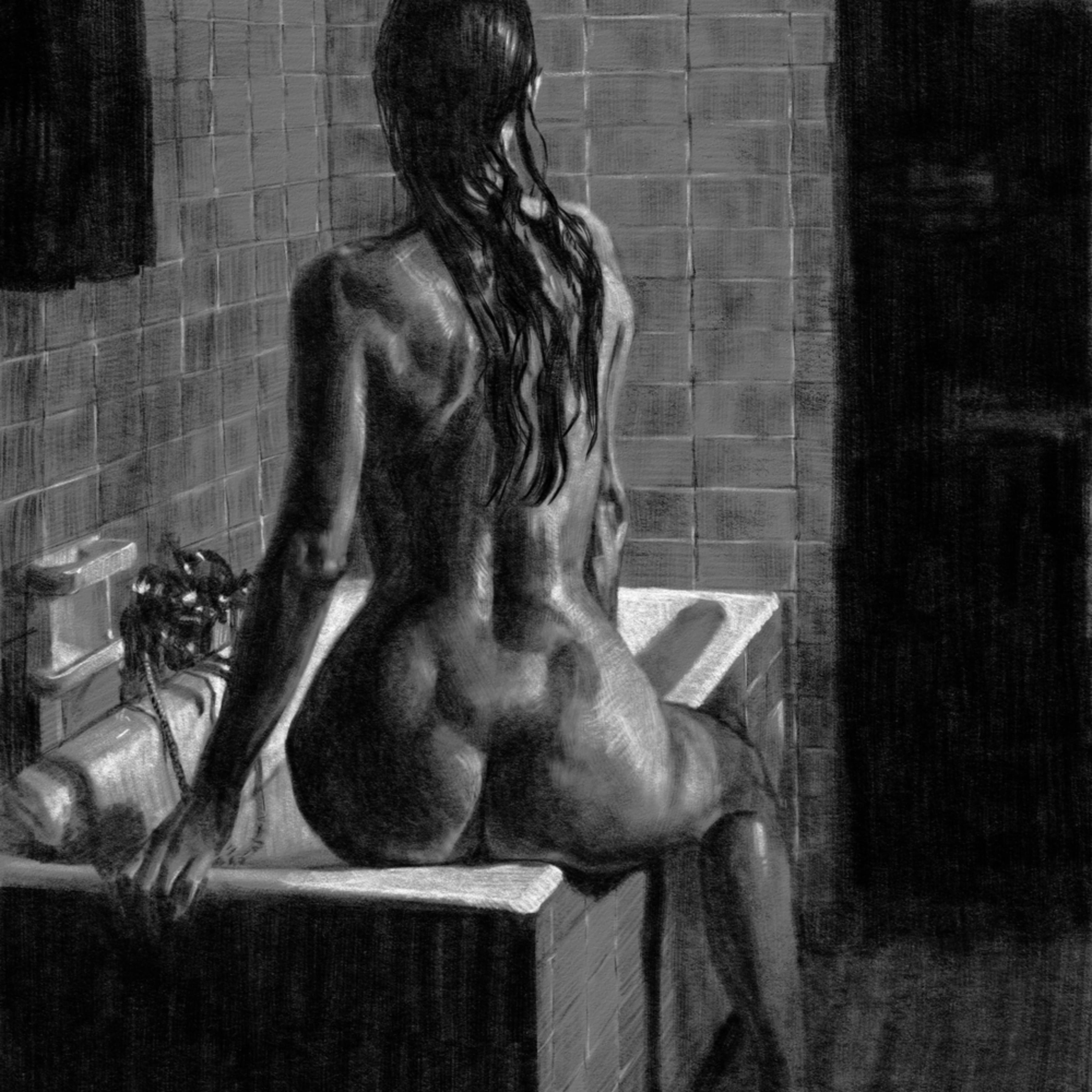 Bather and tub iwqxqw